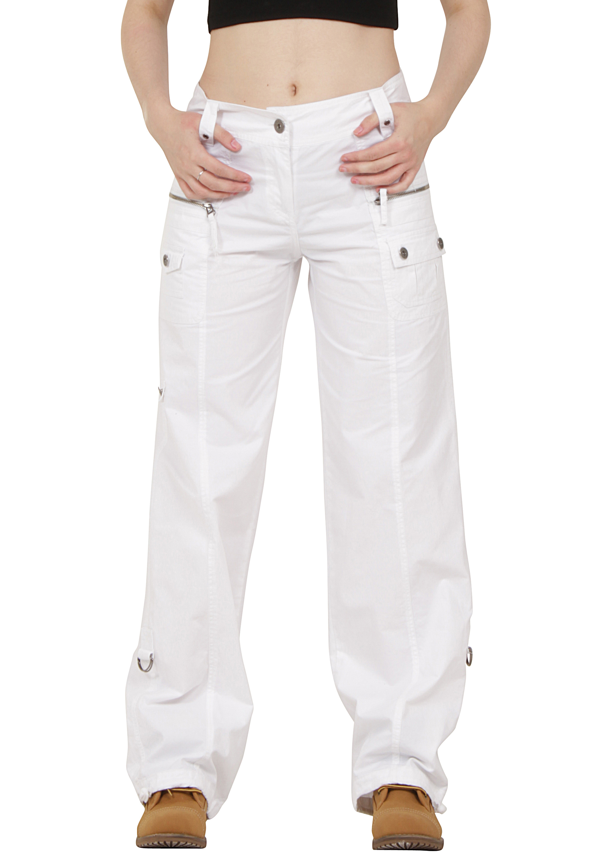 Elegant White Cargo Pants Womens With New Images In Thailand U2013 Playzoa.com