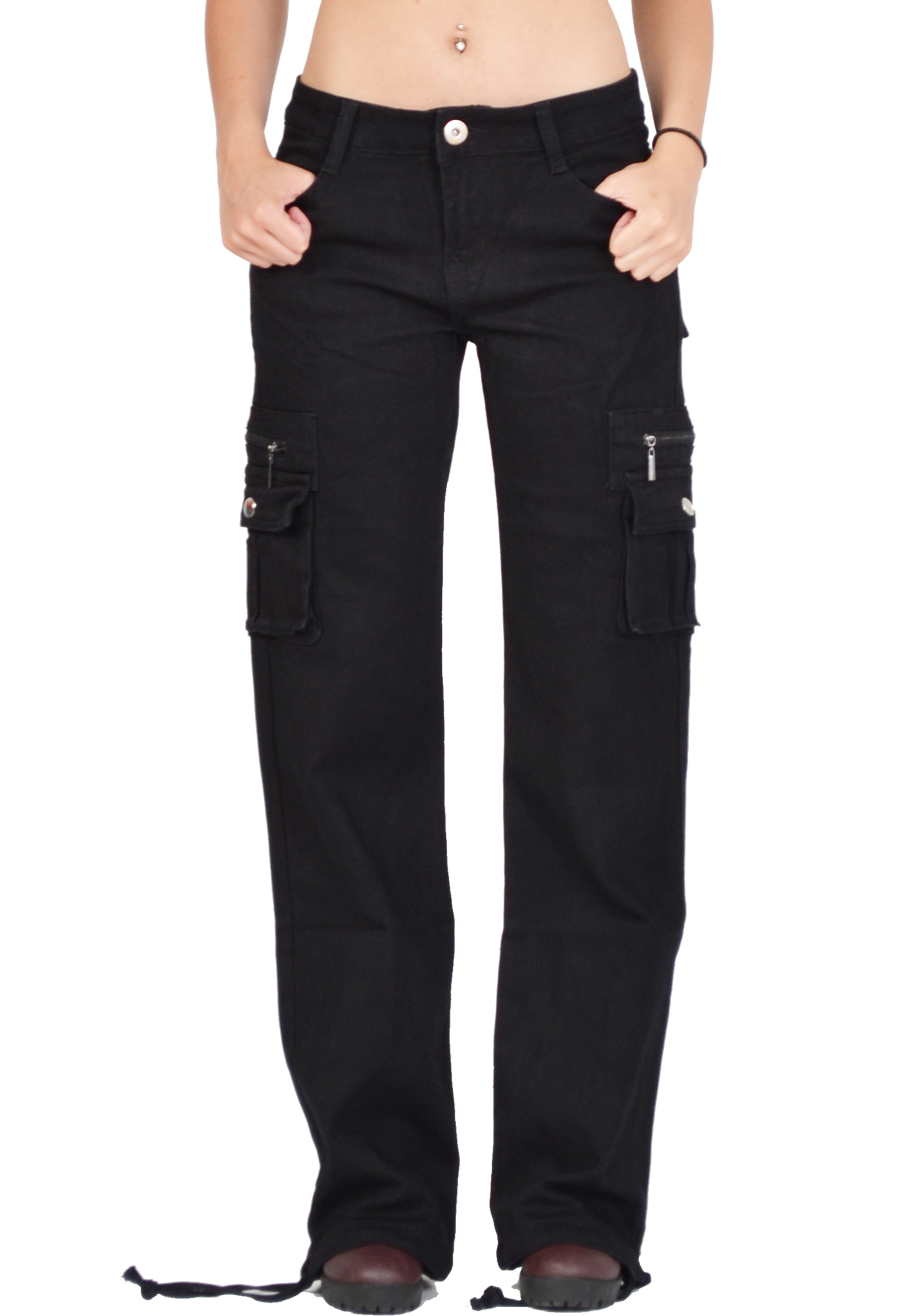 Amazon.com: black cargo pants for women: Clothing, Shoes ...