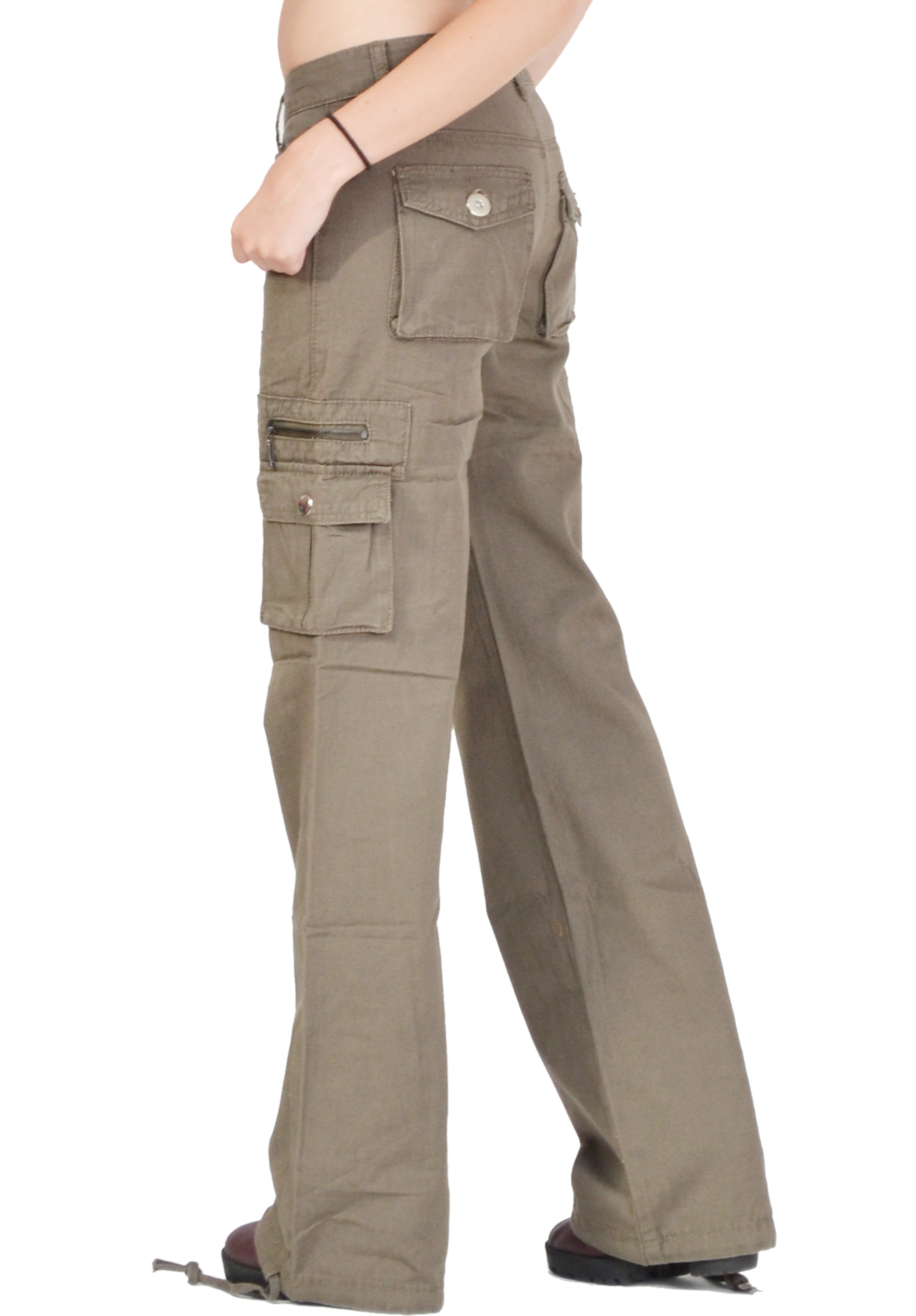 Creative 11 Womens Tactical Pants  OD Green