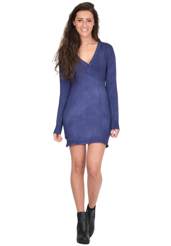 Long Sleeve Jumper Dress Uk - Aztec Sweater Dress