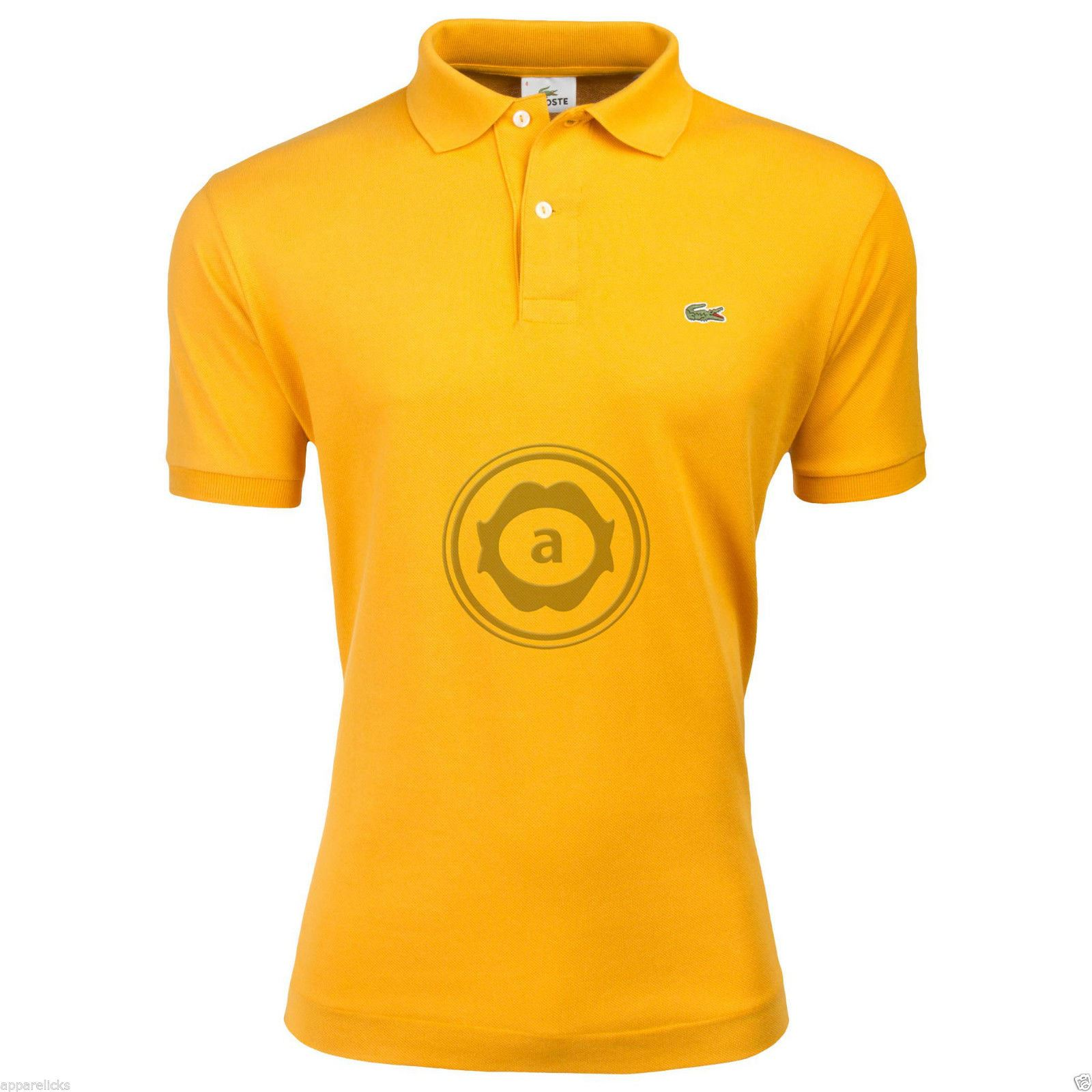Lacoste men 039 s l1212 polo shirt cotton classic fit all for Lacoste polo shirts ebay