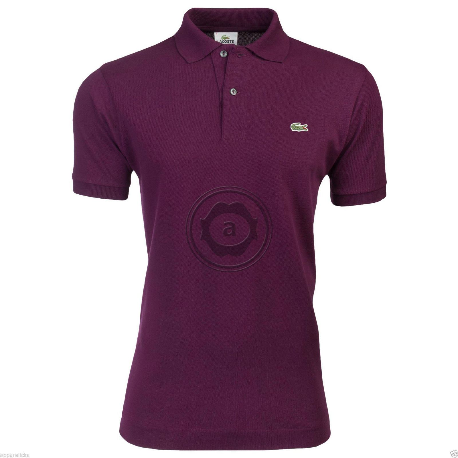 lacoste men 39 s l1212 polo shirt cotton classic fit all colours size 3 4 5 6 7 ebay. Black Bedroom Furniture Sets. Home Design Ideas