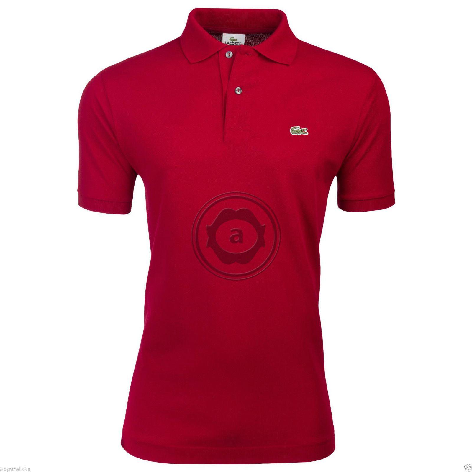 lacoste men 39 s l1212 polo shirt cotton classic fit all