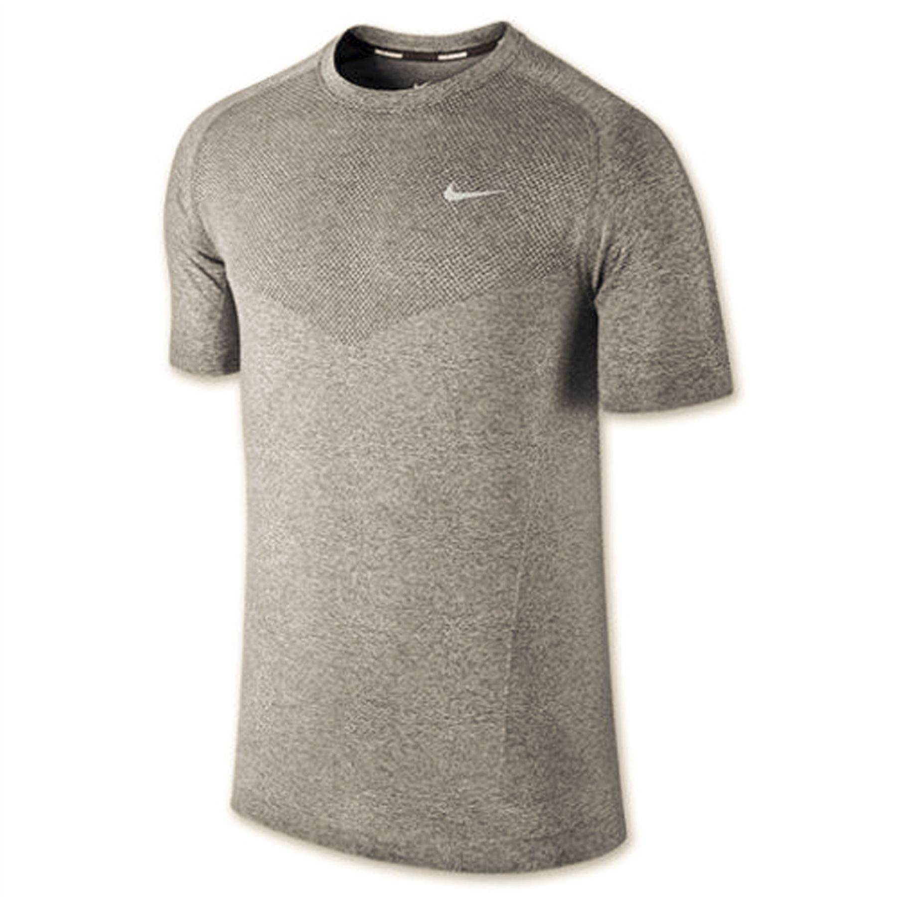 Nike men 39 s dri fit knit short sleeve tee running t shirt for Buy dri fit shirts