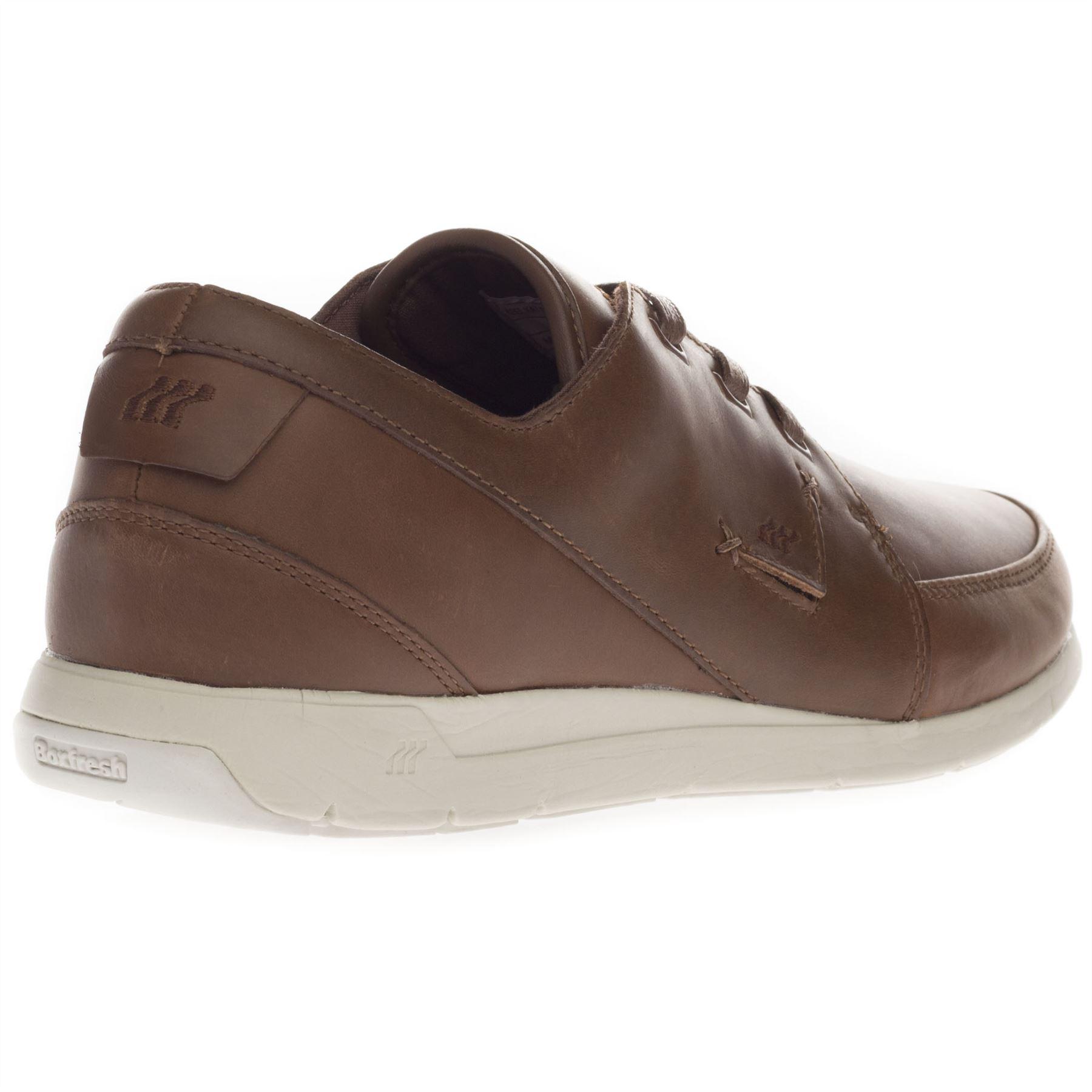 Boxfresh Men's Clyston Ampton Shepperton Casual Black Brown Grey Trainers Shoes