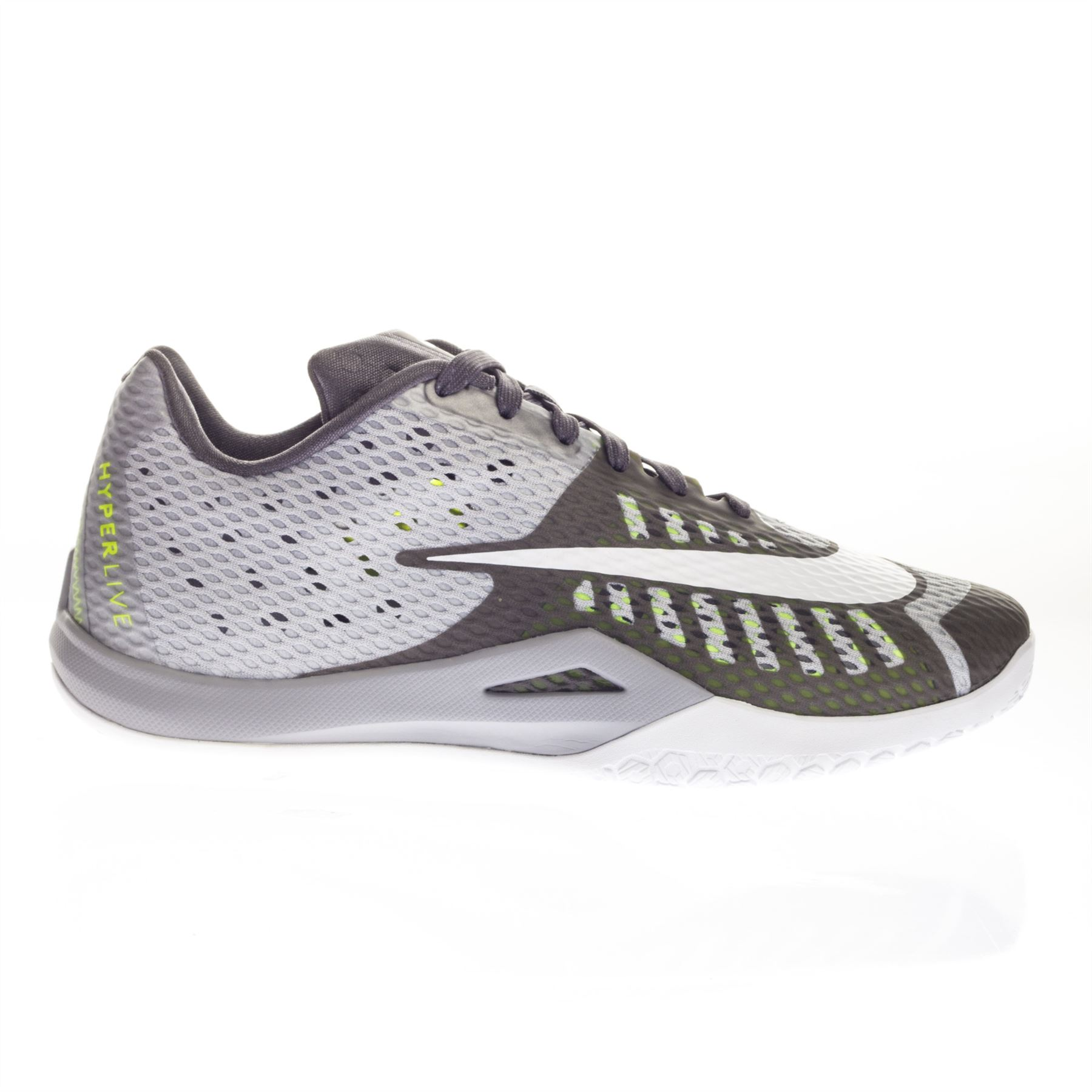 Nike Men's Hyperlive Flywire-Fibres Shoelaces Low Top Running Trainers