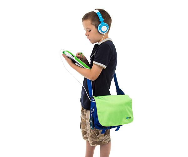 Ultimate Addons Kids Boy Girl Messenger Bag fits LeapFrog LeapReader Tag /& Books
