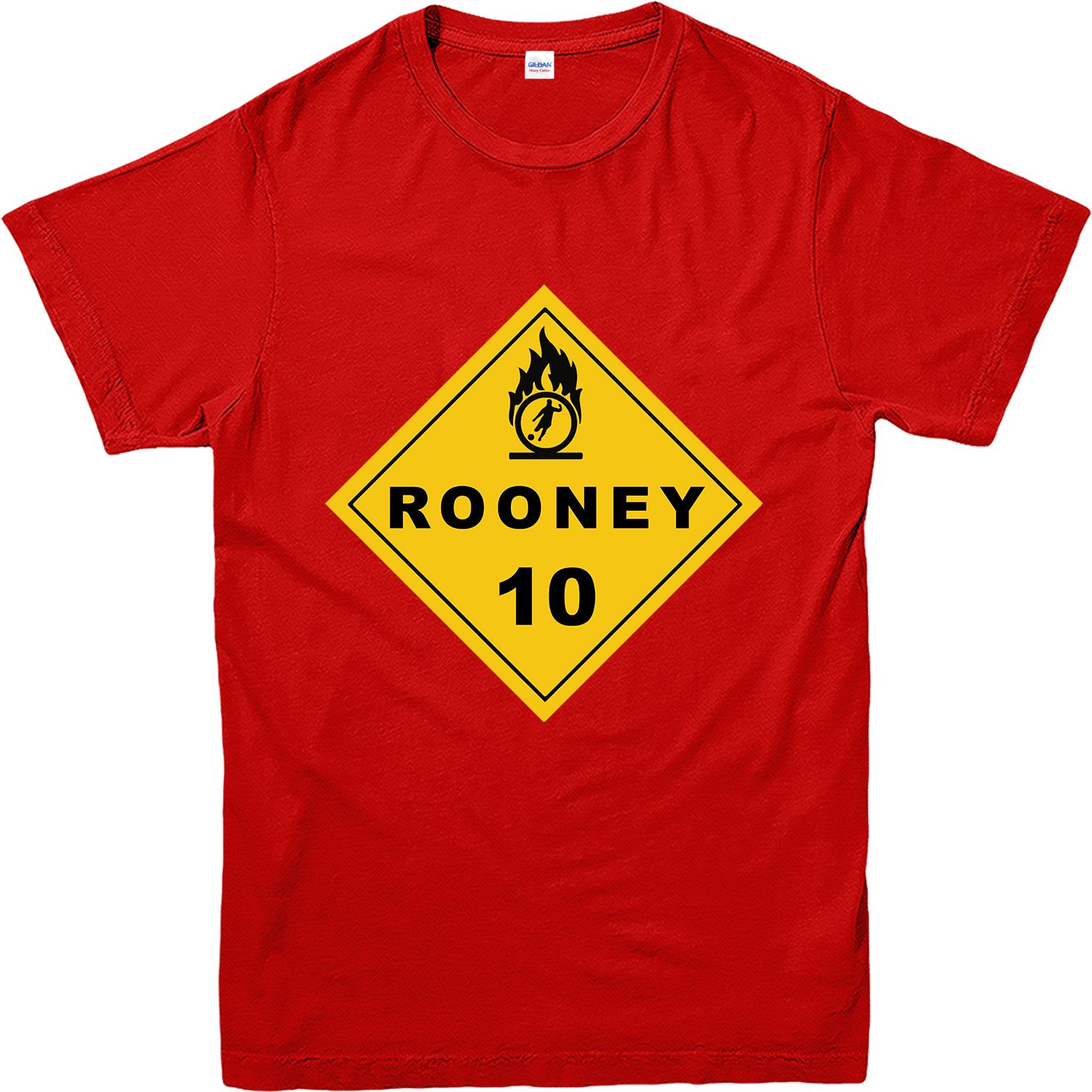 Design t shirt manchester united - Rooney T Shirt Man United Wayne Rooney Design