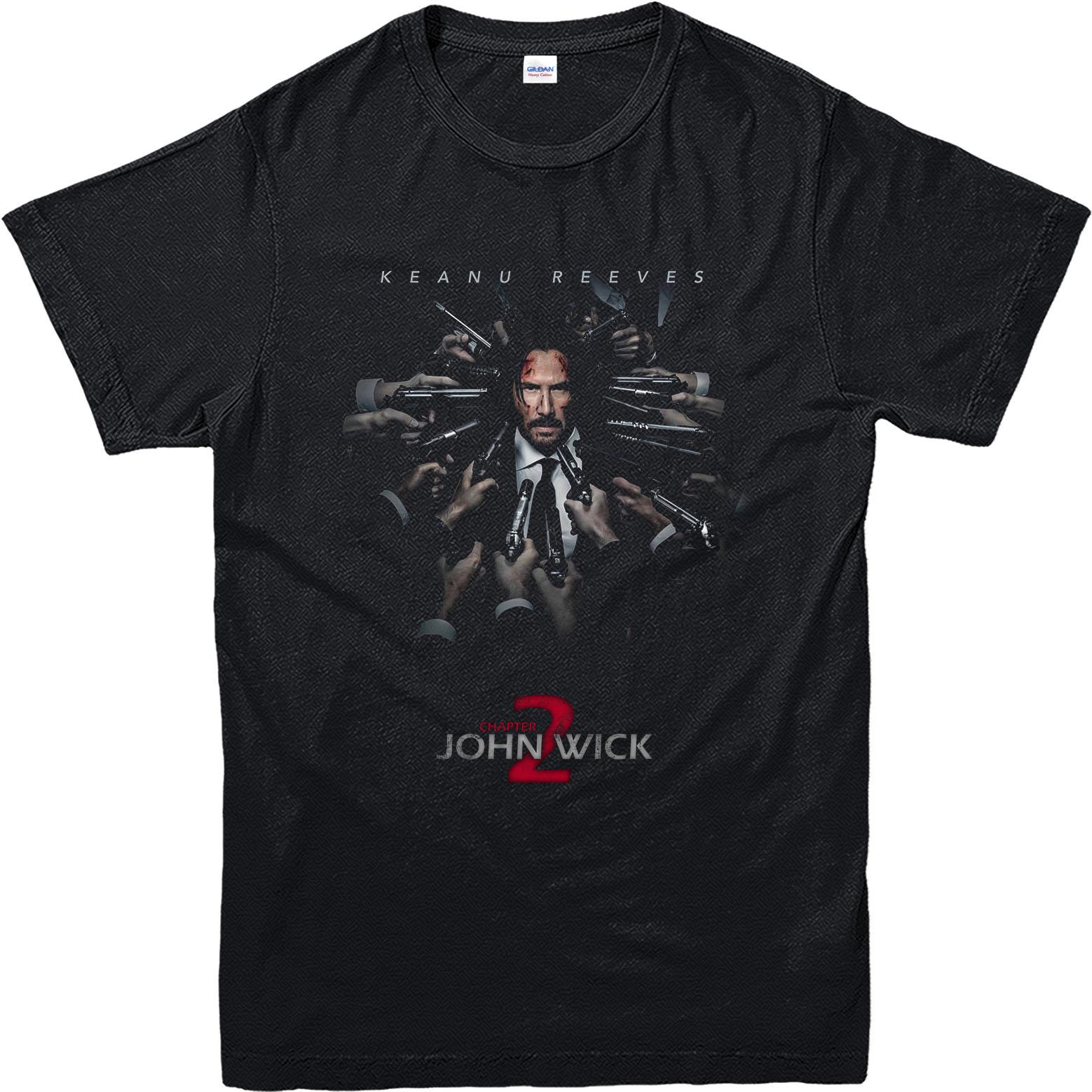 Shirt ke design - John Wick T Shirt Keanu Reeves Poster T