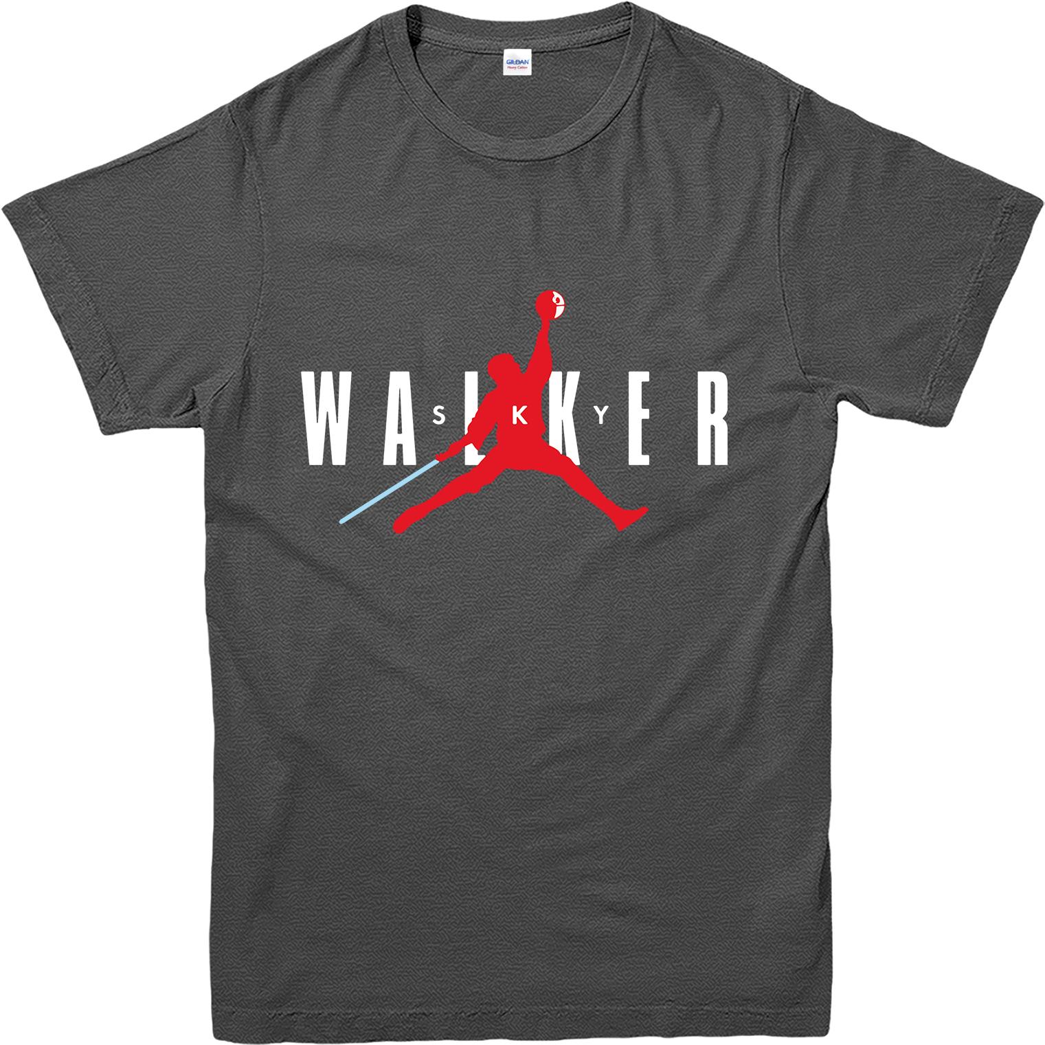 T shirt design jordan - Sky Walker T Shirt Jordan Logo Spoof T
