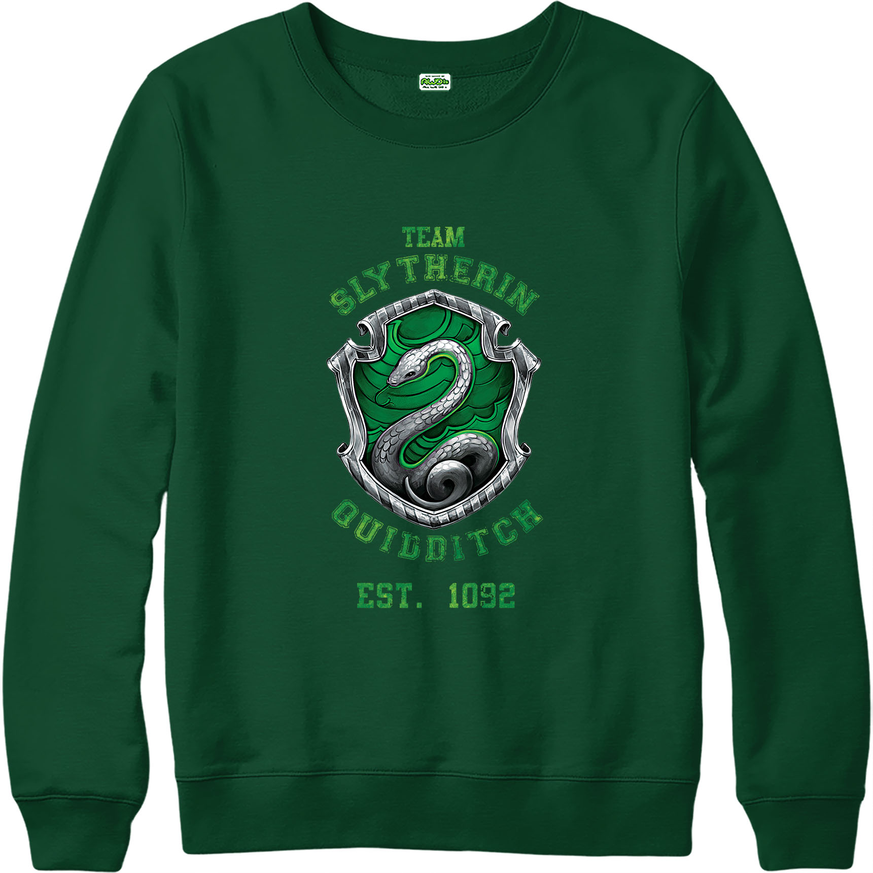 harry potter jumper quidditch team slytherin jumper inspired design top ebay. Black Bedroom Furniture Sets. Home Design Ideas