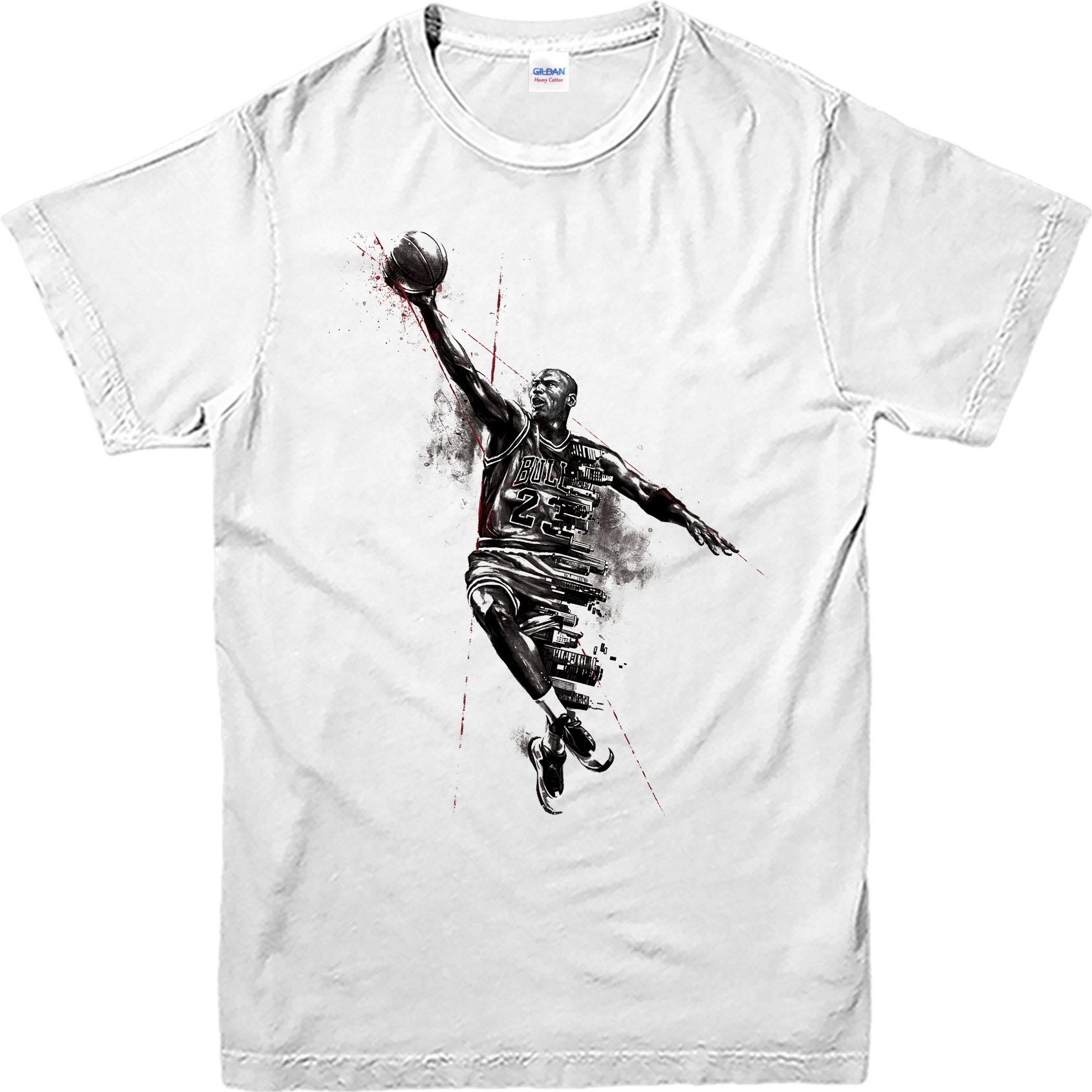 T shirt design jordan - Michael Jordan T Shirt Basketball Jordan Logo Spoof