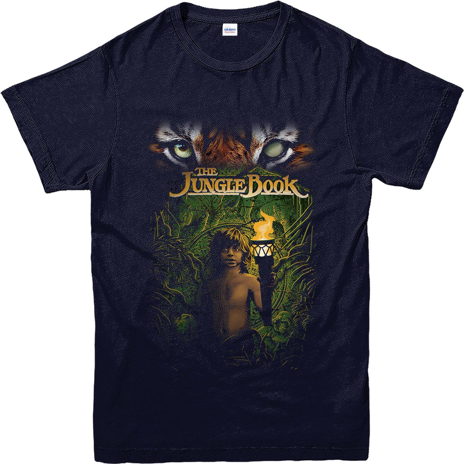 Jungle Book T Shirt Mogli In Jungle Inspired Design T