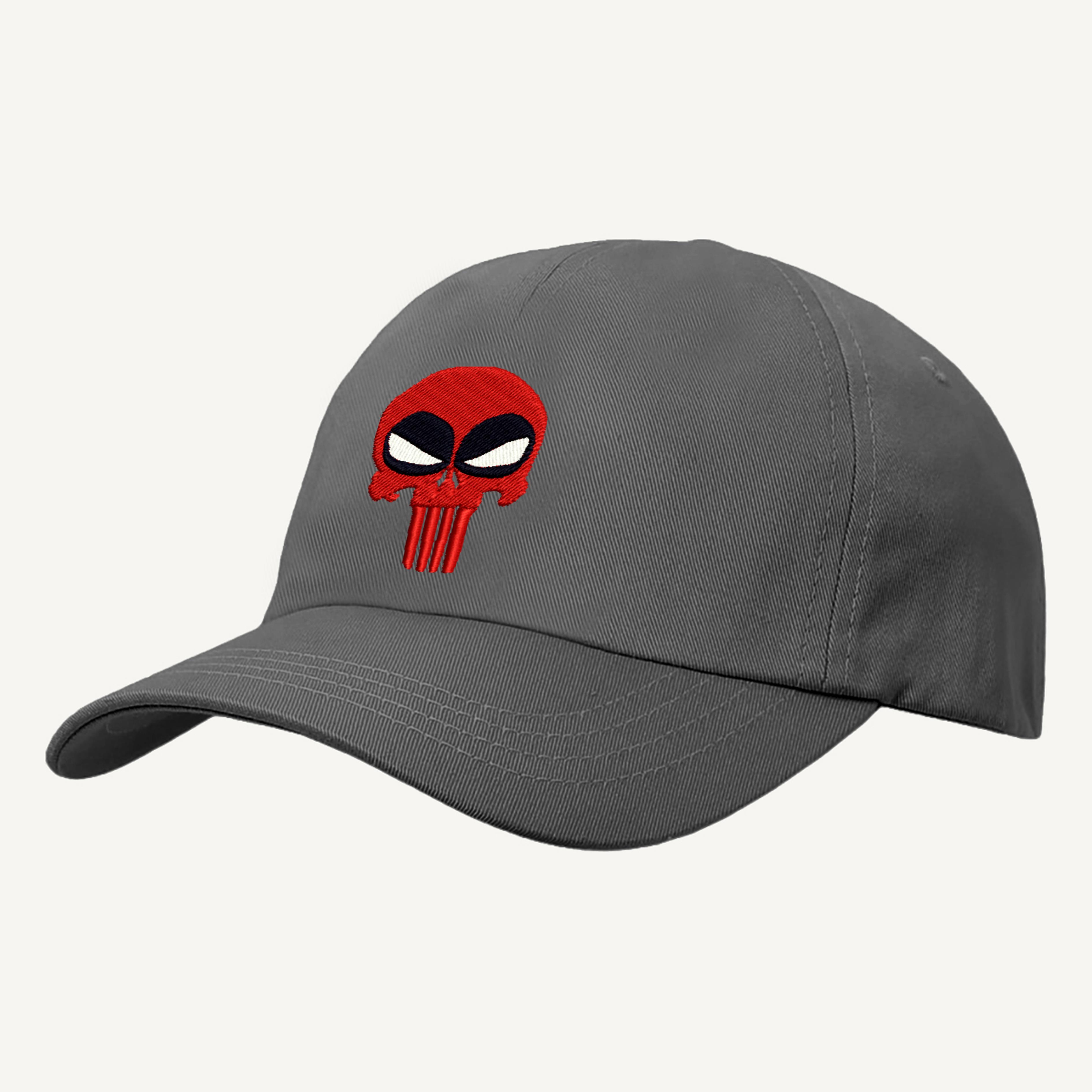 TIM Miller Ricamato Design DEADPOOL Cappello da baseball DEADPOOL PUNITORE spoof Cappello