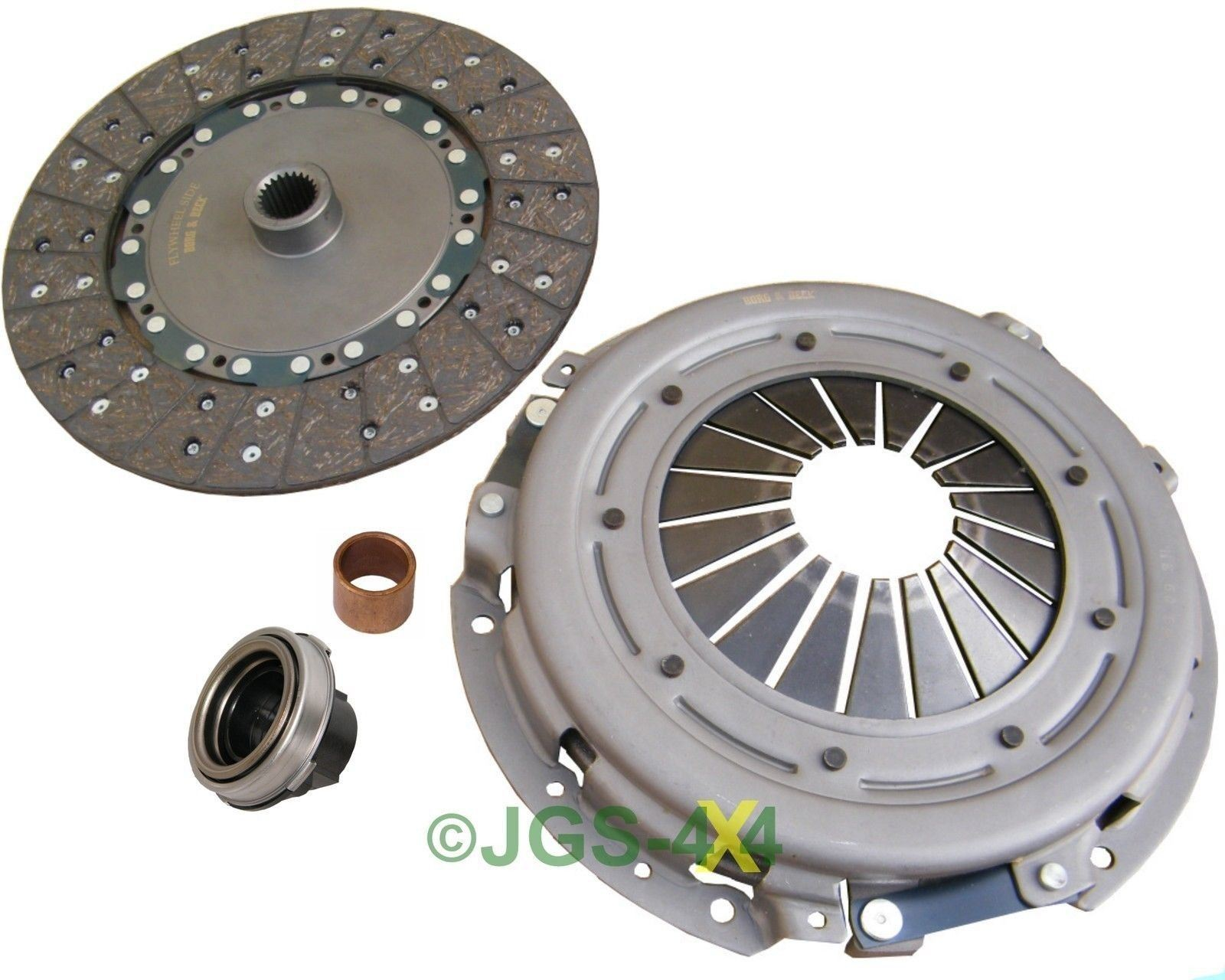 land rover discovery 2 defender td5 clutch kit 4 piece borg beck ftc4631 ebay. Black Bedroom Furniture Sets. Home Design Ideas