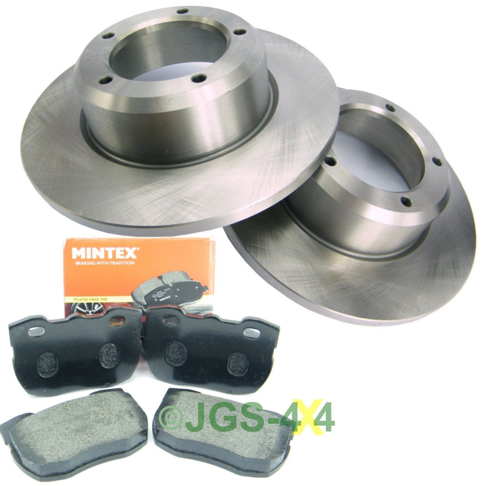 Land Rover Discovery 1 300TDi Front Brake Discs + MINTEX