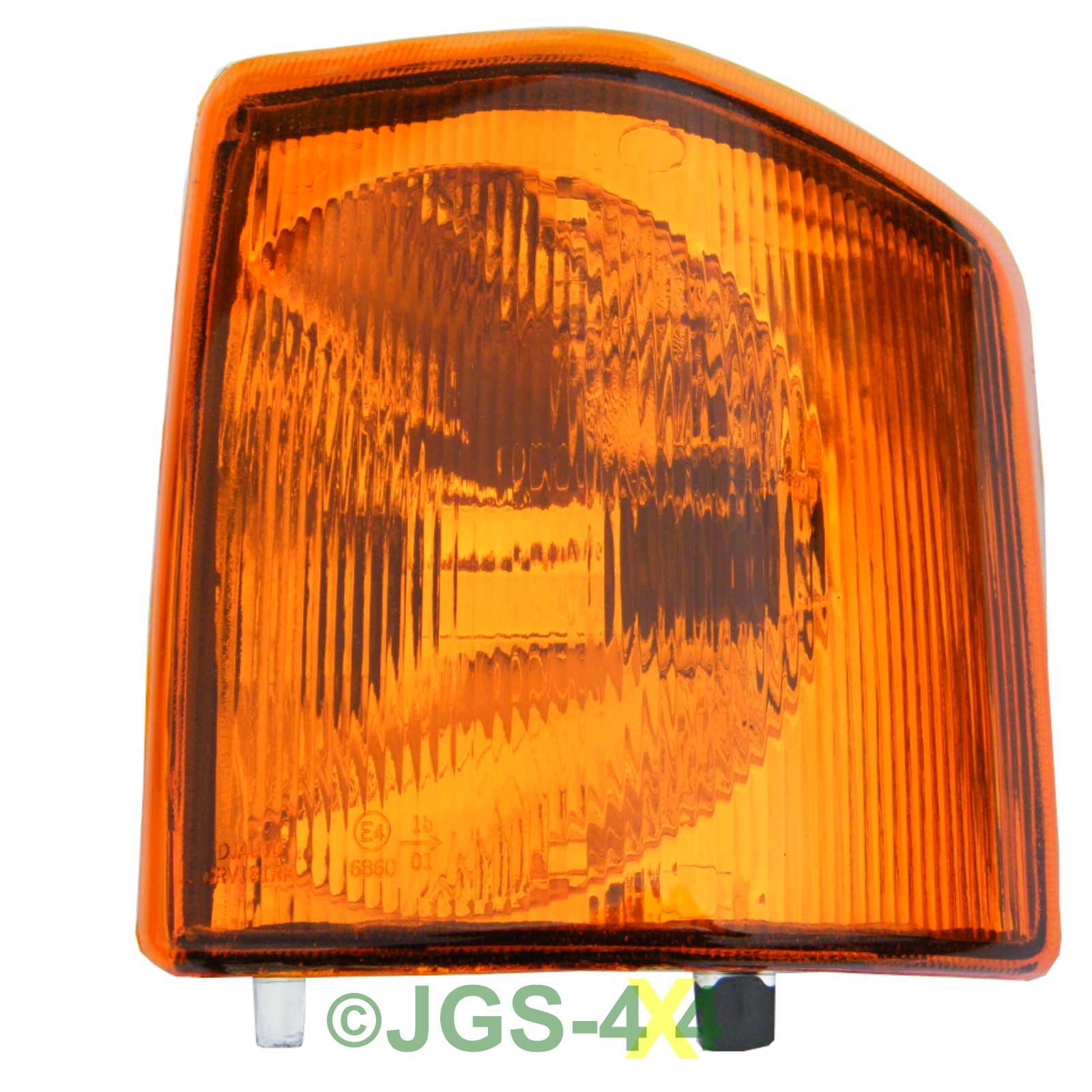 Pair Of Clear Front Indicator Lights For Land Rover: Land Rover Discovery 1 Front Indicator Lamps Lights