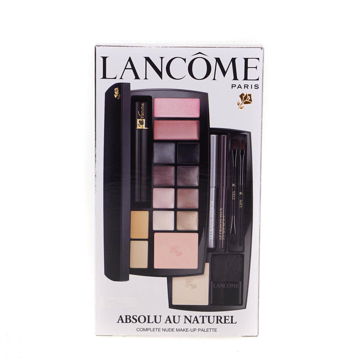 lancome absolu au naturel nude makeup palette set lips. Black Bedroom Furniture Sets. Home Design Ideas