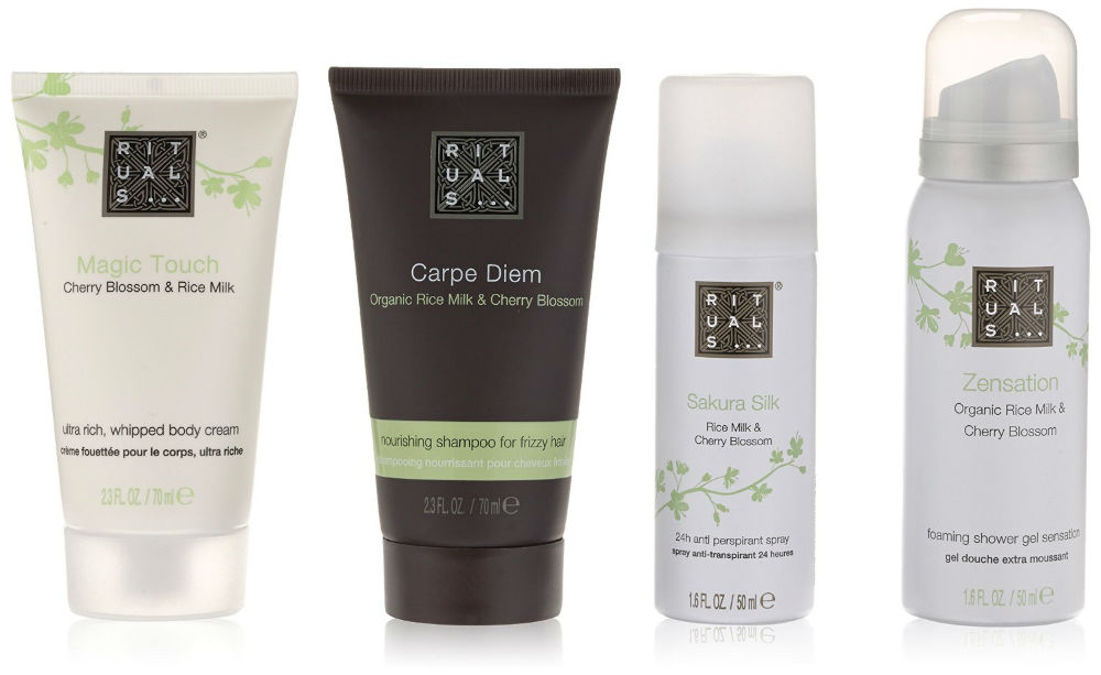 rituals body cream shampoo deodorant foaming shower ladies. Black Bedroom Furniture Sets. Home Design Ideas