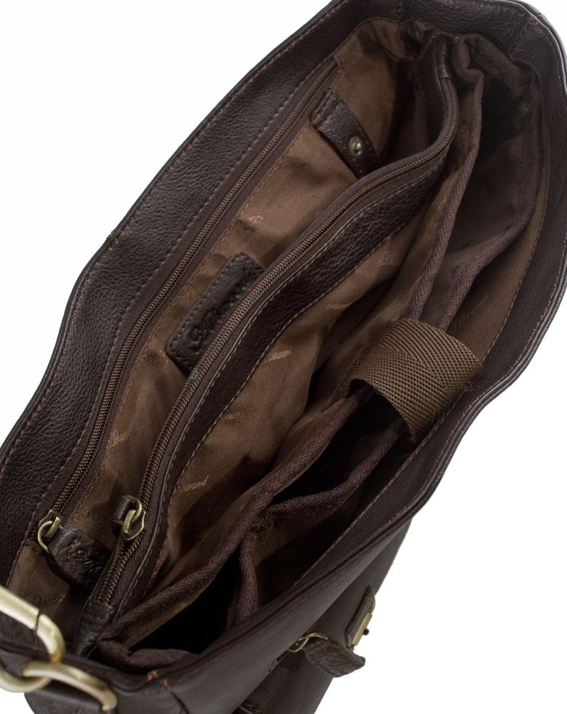 Mens Ladies Quality Genuine Real Leather Cross Body Messenger Laptop Handbag Bag