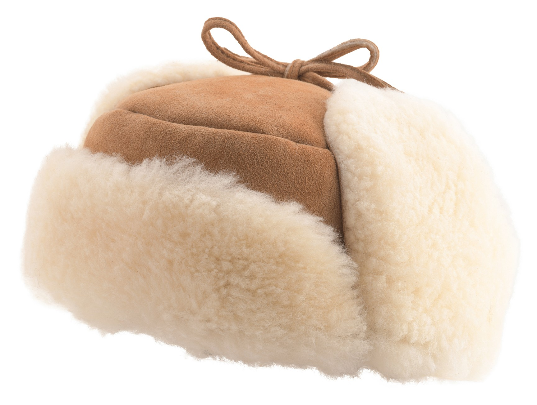 Lambland Mens Ladies UK Made Genuine Sheepskin Deer Stalker Trapper Hat