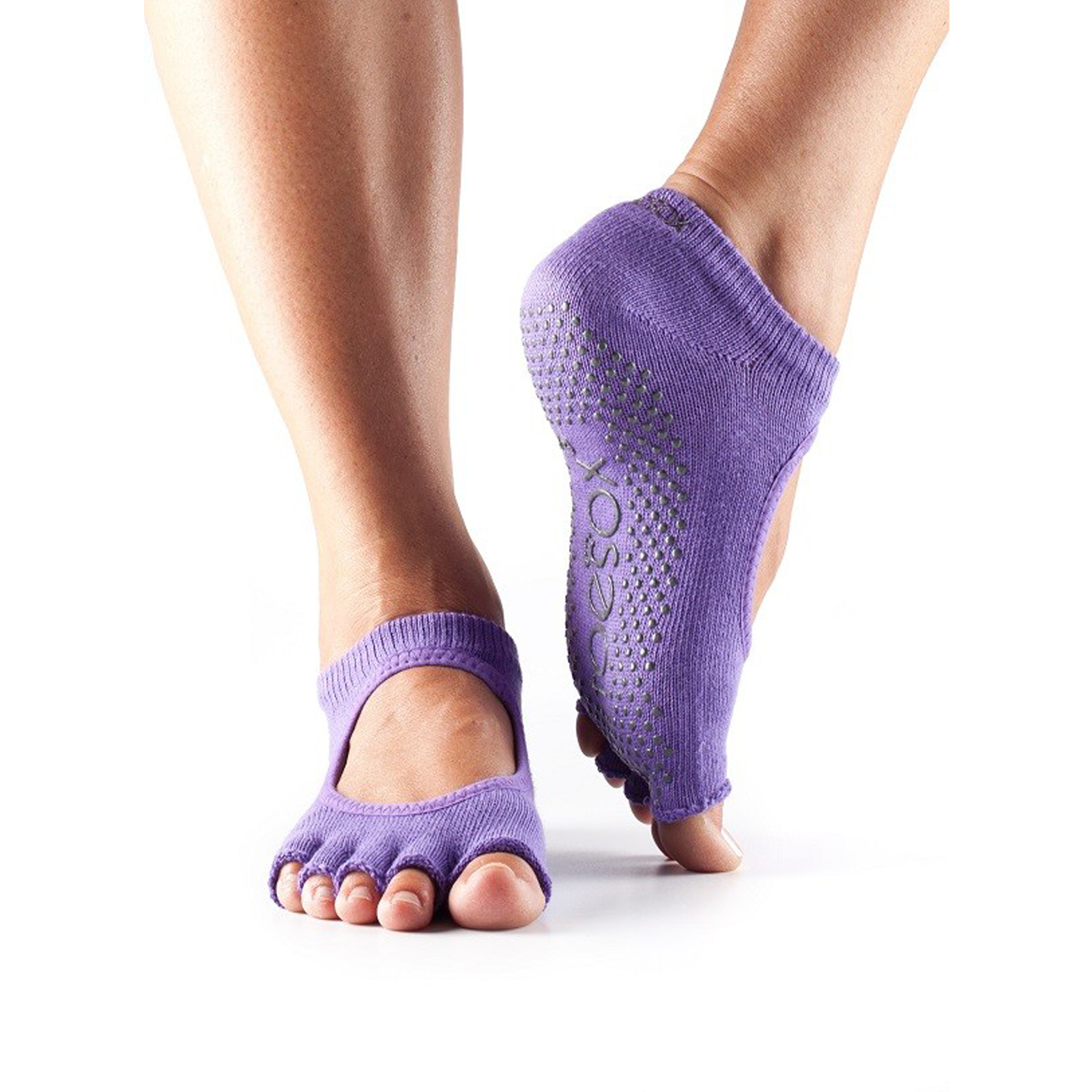 Toesox Half Toe Bella Non Slip Grip Fitness Workout Dance