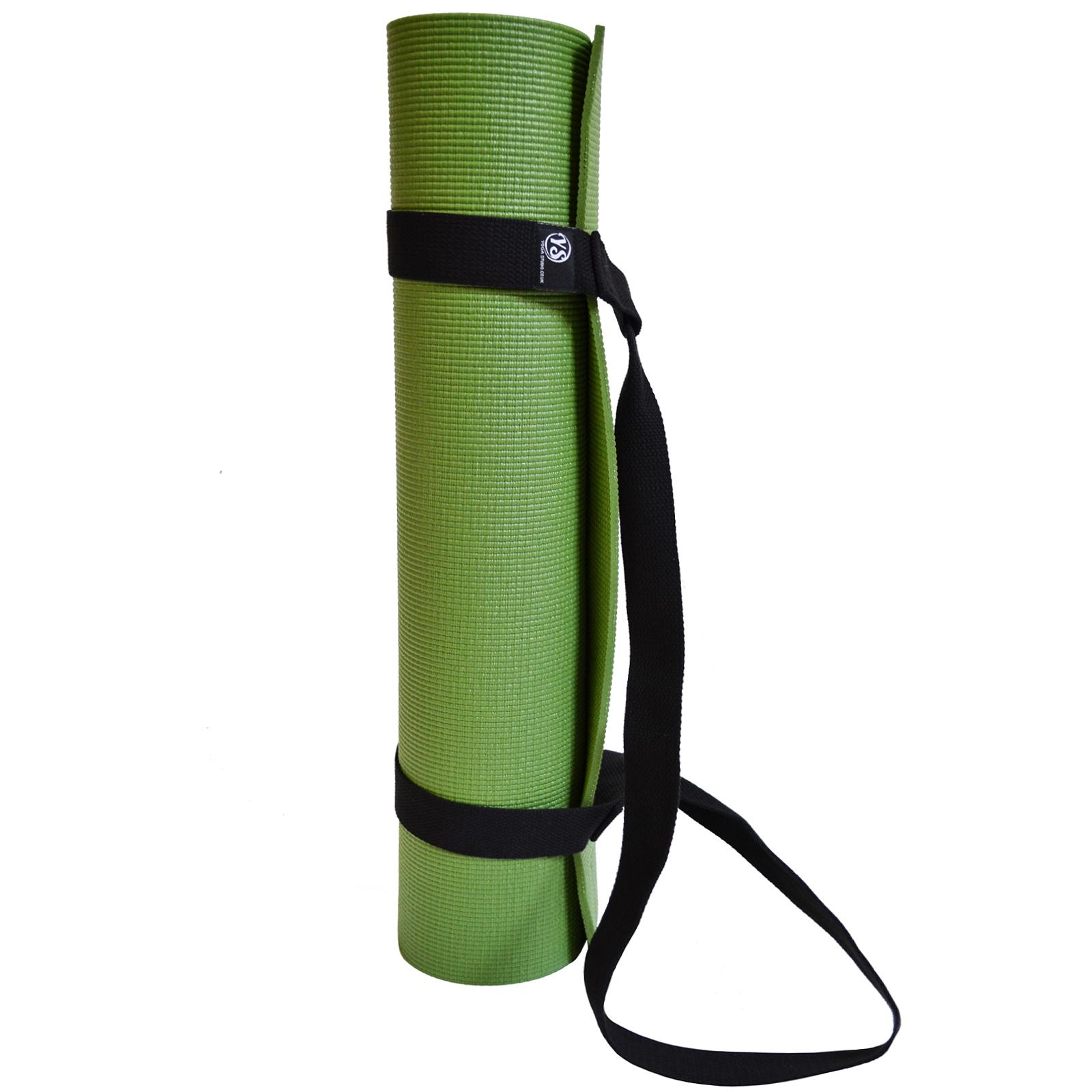 Yoga Studio Black Easy Adjustable Yoga Mat Sling Shoulder