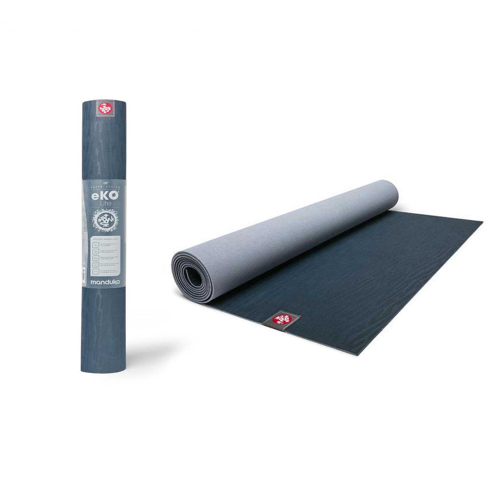 Manduka EKO Lite Exercise Fitness Gym Non Slip Light