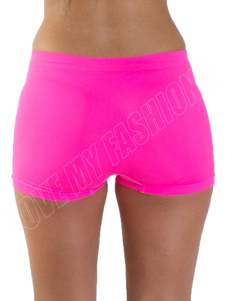 New Womens Ladies High Waist Boxer Pants Shorts Underwear Plus ...