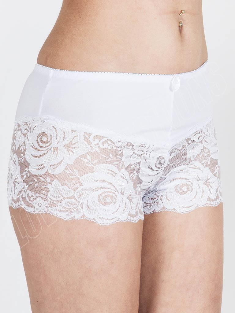 Women Lace Boyshort Panties Plus Size Underwear Lingerie for Women(M-6XL) from $ 6 99 Prime. out of 5 stars 3. B2BODY. Feel Sexy and Confident in Women's Boy Short Panties. Women's boy short panties are the feminine version of men's boxer briefs. They offer more coverage and support than most other panty styles.