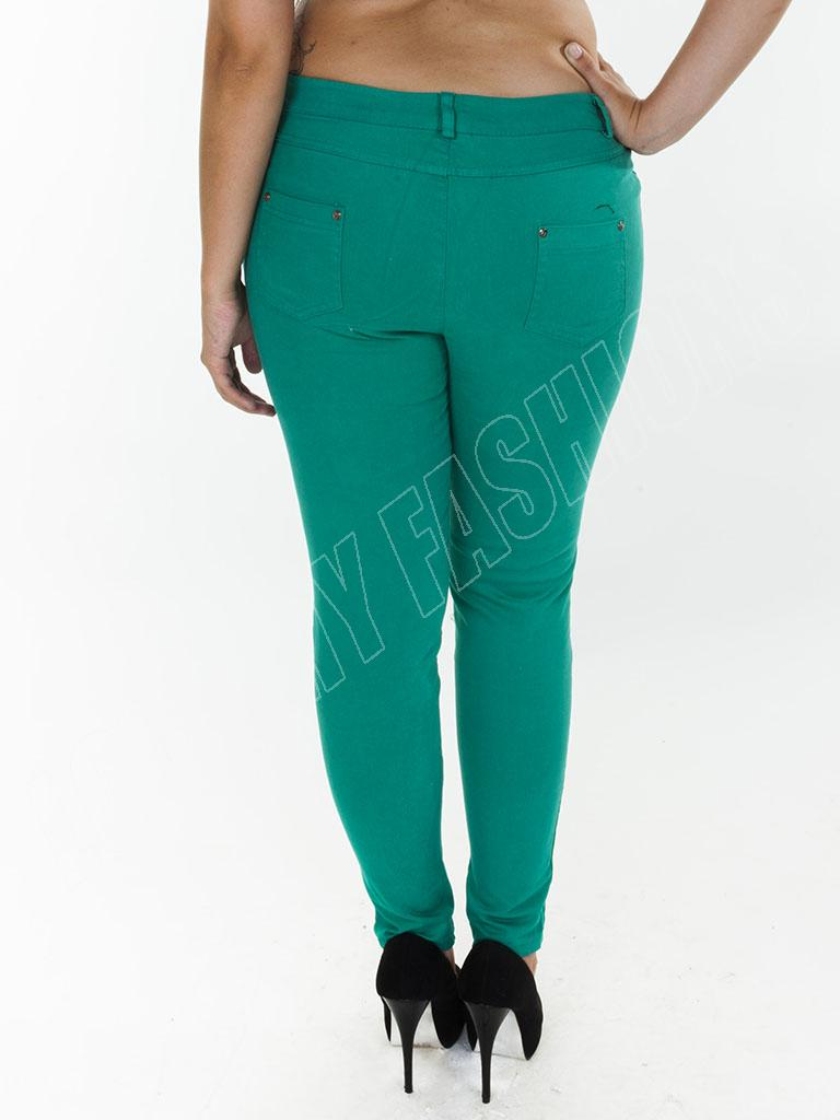 New-Womens-High-Waisted-Colour-Jeans-Jeggings-Skinny-Plus-Size-12-14-16-18-20-22