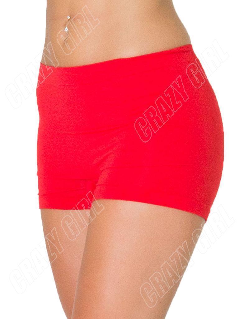 Womens Plain Boxer Sexy Hot Pants Boy Shorts Ladies Underwear Plus ...
