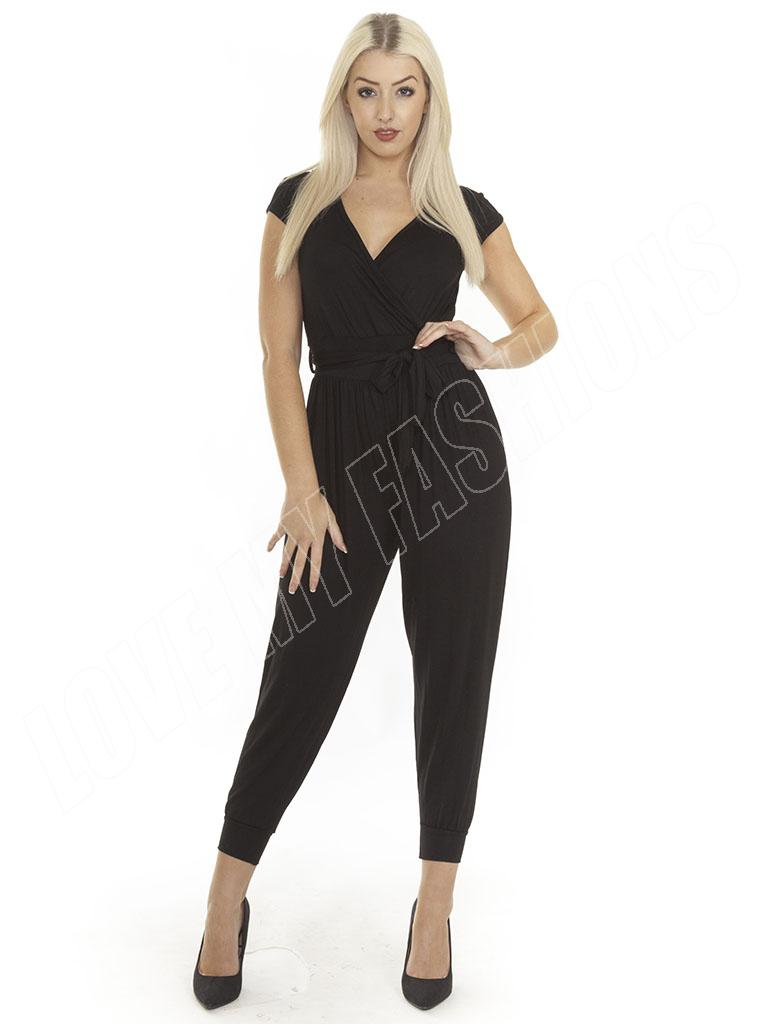Show off your style in a chic women's jumpsuit. Women's jumpsuits provide effortless style for both casual and formal occasions. Grab a button-front jumpsuit for a day in the office or a paisley women's romper for an afternoon at the beach.