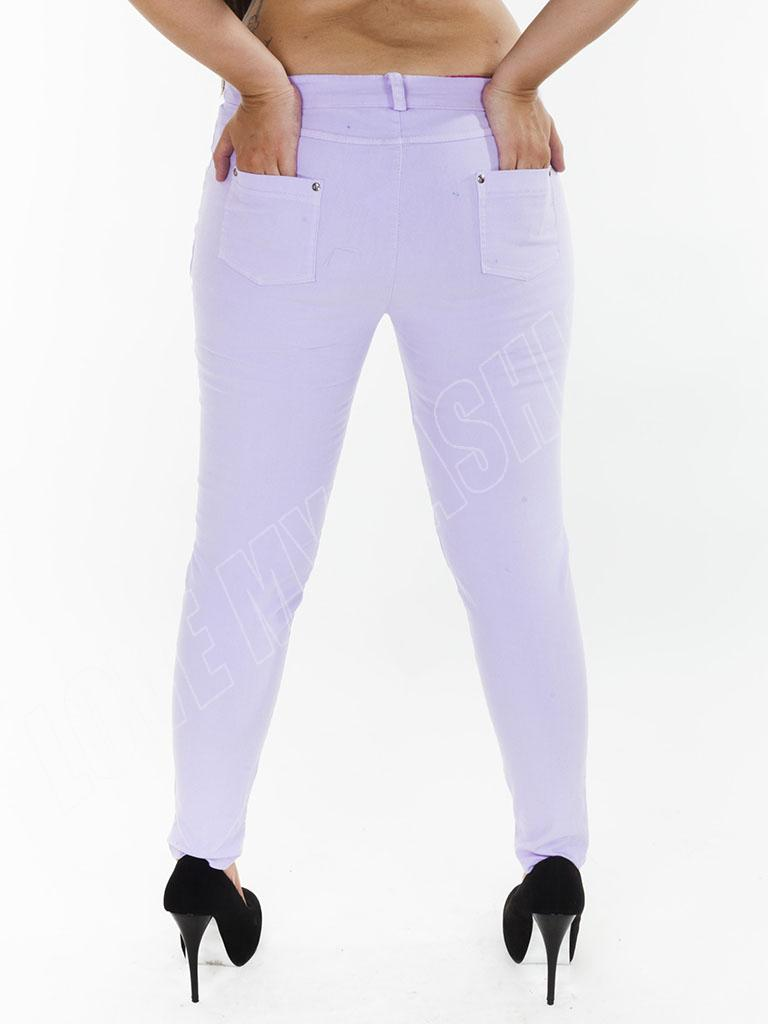 New Womens High Waisted Colour Jeans Jeggings Skinny Plus Size 12 ...