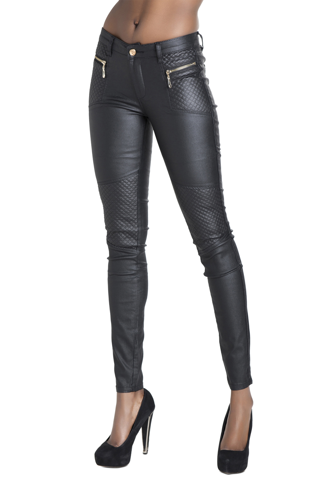 A leather pant for women is telling the world you have attitude. It reveals a bad side of your personality that you're willing to embrace. This personality is tough, gritty, and fearless. J Brand, Rag & Bone, Helmut, and Spanx are a snippet of the various designers venturing into women's leather pants and owning it.