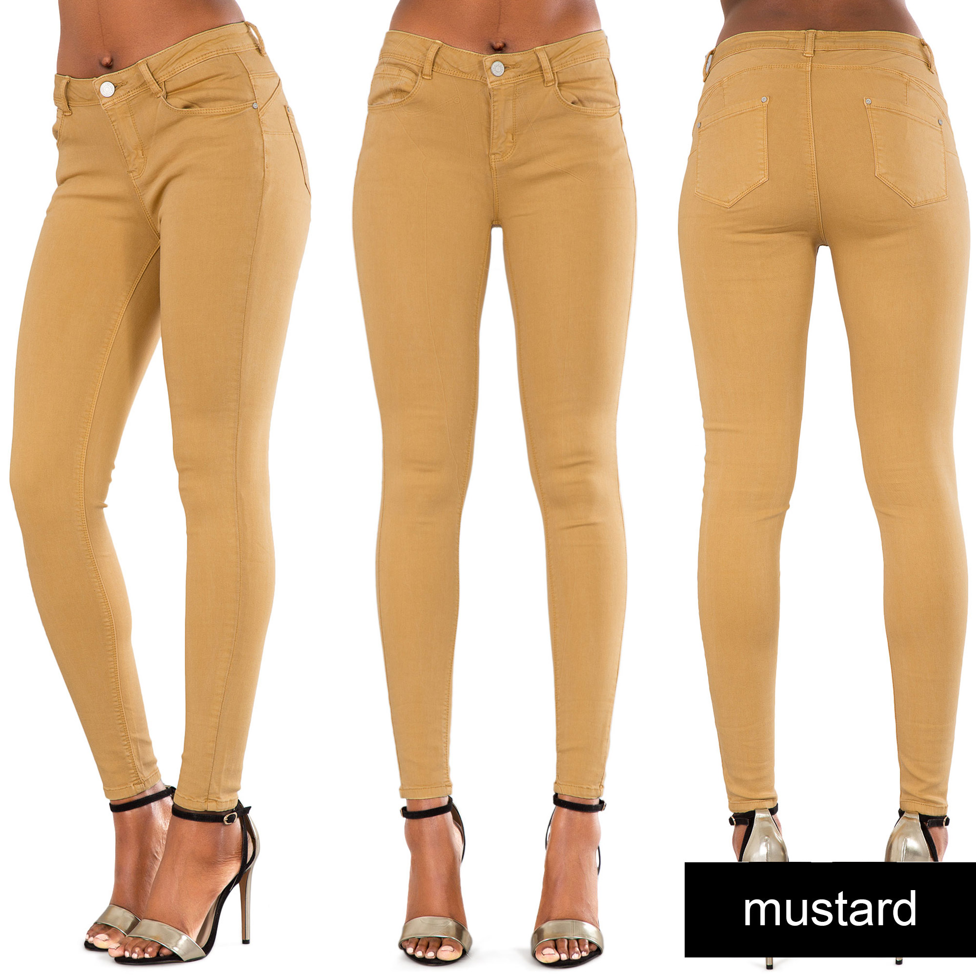 Sep 18, · High-waisted jeans that are skinny or flared look great with high heels as the height will elongate your legs. Try patterned heels for a fun look or heels in a neutral color to offset jeans Views: 32K.