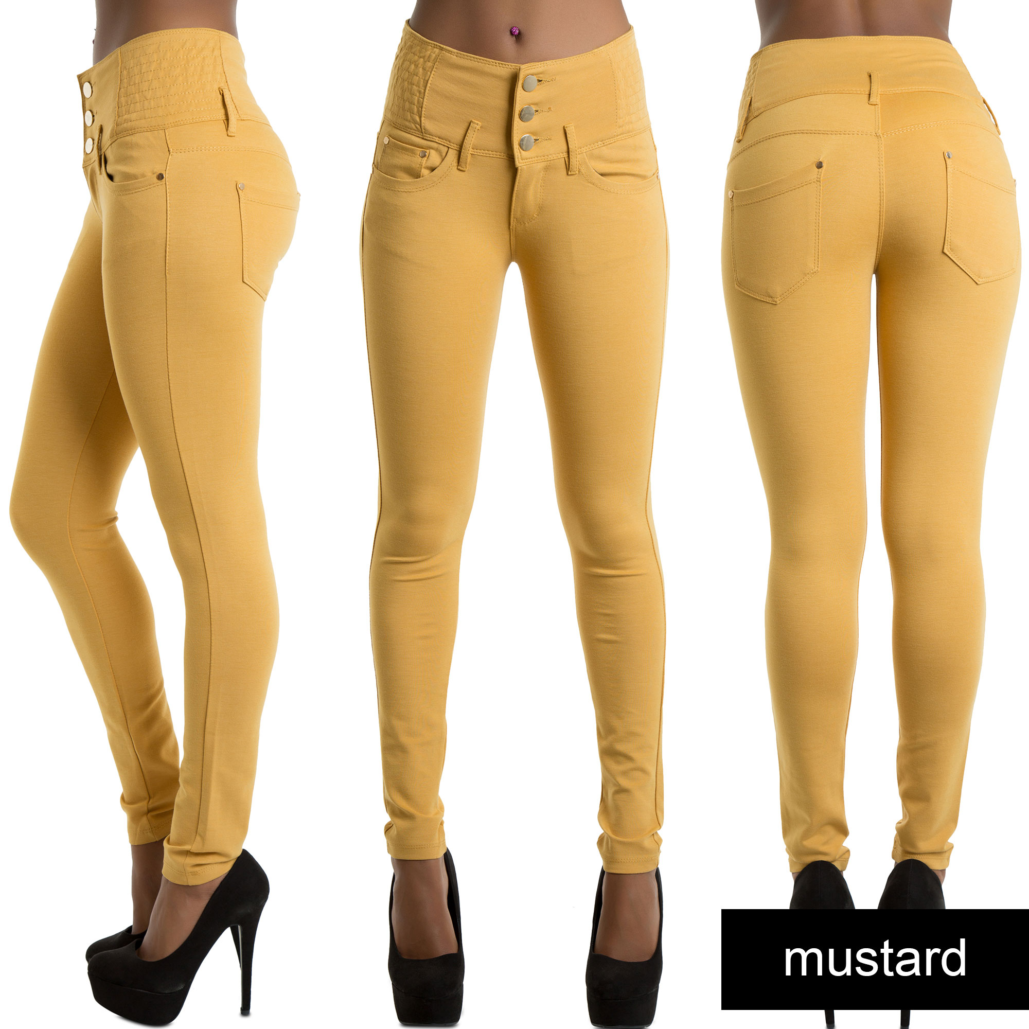Shop. If you are normally a size 6 and are standing in front of a rack of jeans with sizes listed in inches, remember your waist measurement, or know that a standard size 6 is about a inch waist. If the sizes are listed in pants sizes, just take your waist measurement and .