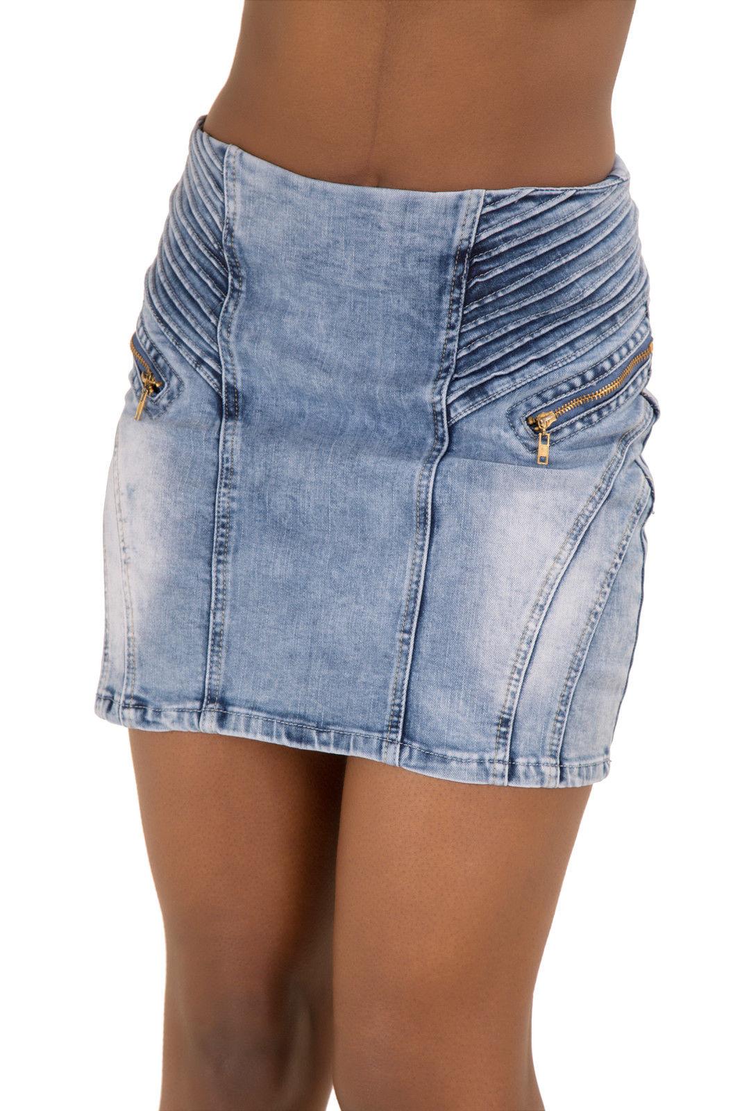 womens denim skirt new washed