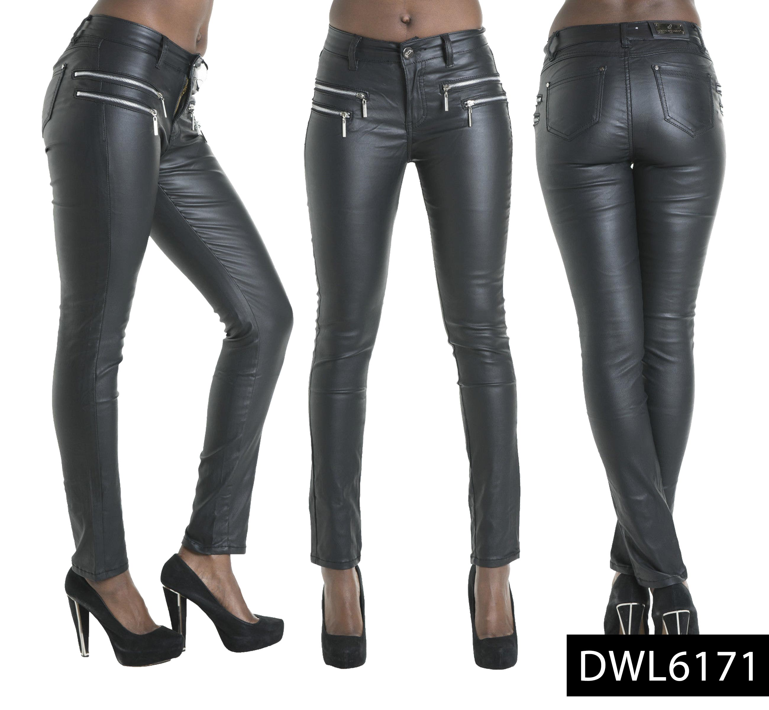 New Hot Black Lady Leather Look Cotton stitching Stretch Tights Shiny Pants See more like this. Women's Wet Look Stretchy Pants Faux Leather Skinny Leggings Pencil Trousers. WOMEN'S BLACK LEATHER LOOK PANTS SIZE 14 ELASTICATED WAIST/SIDE ZIPPER BY GEORGE. New (Other) $ Guaranteed by Mon, Oct. Buy It Now +$ shipping.