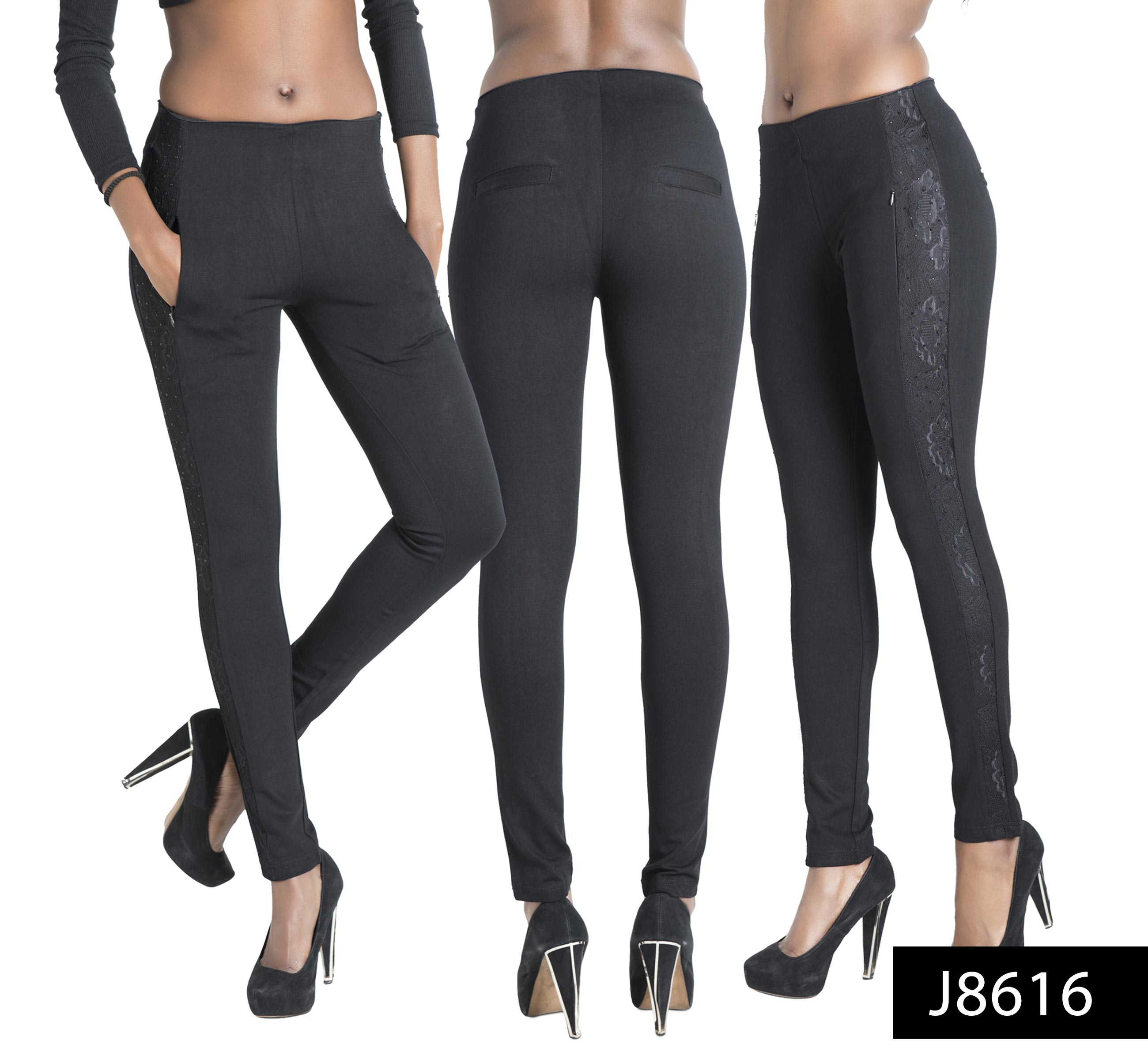 SALE Ladies Womens New Black Leather Look Sexy Leggings ...