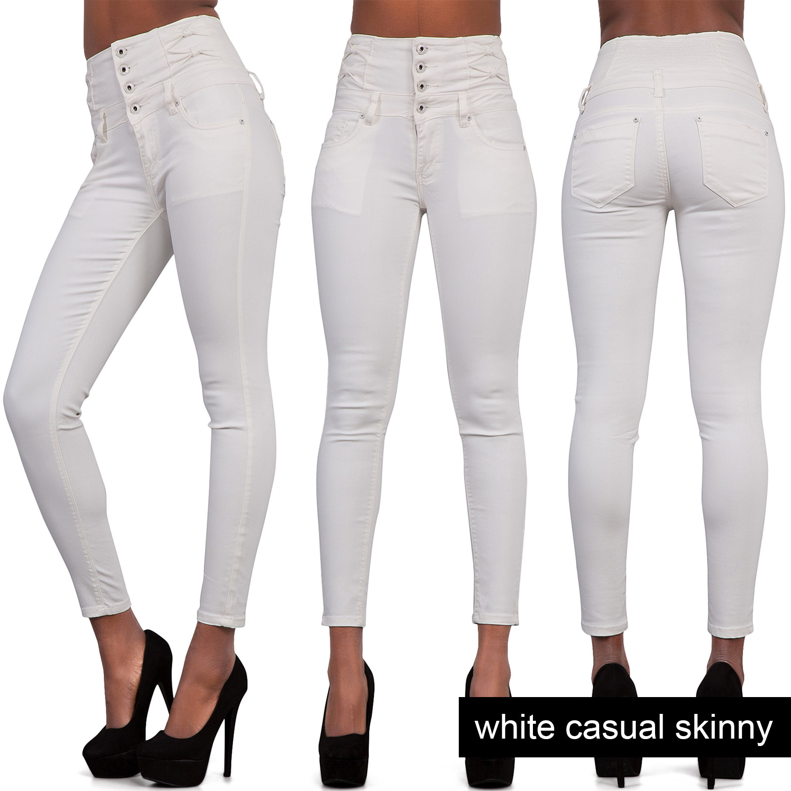 Discover high waisted and super high waisted jeans at ASOS. Shop from a range of skinny, ankle, ripped and flared high waisted jean styles from ASOS. Dr Denim Solitaire super high waist leather look super skinny jean. $ Diesel babhila highwaisted skinny jean. $