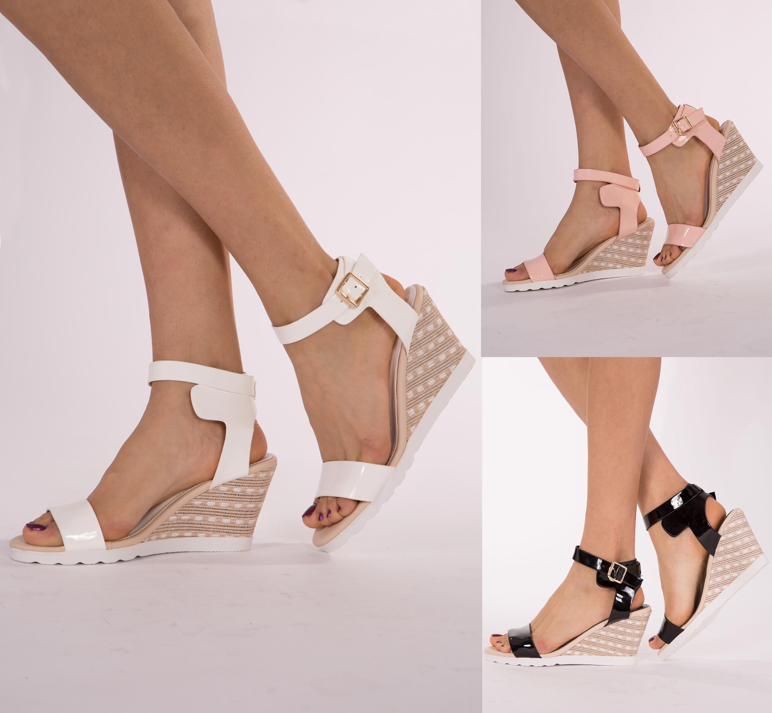 Women In Wedge Heels