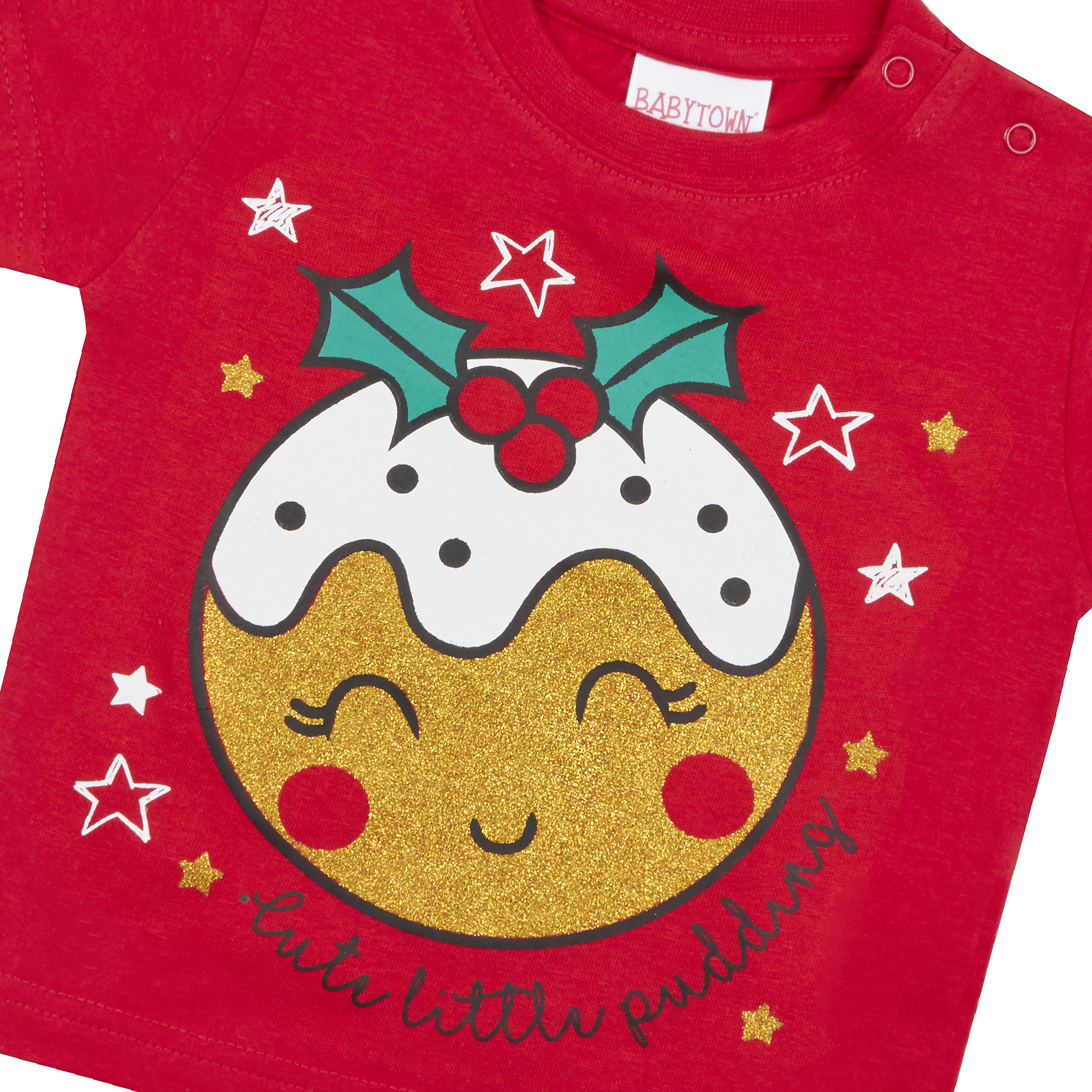 Unisex Bebé Niñas Niños Recién Nacido Algodón Camiseta Navidad Navidad Novedad 3-24 meses