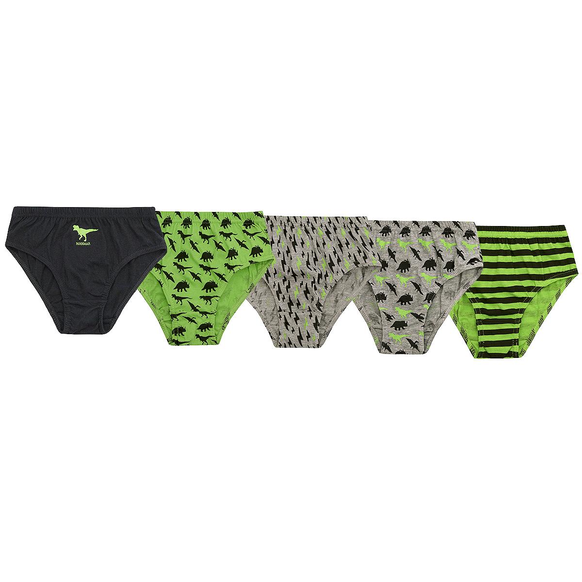 4KIDZ Kids Boys 100/% Natural Cotton Briefs 5 or 15 Multi-Pack Underwear 7-13 yrs
