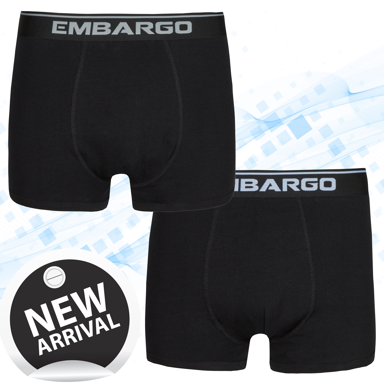 Mens Striped Boxers Trunks Pants Cotton Rich Breathable Underwear 6 Pack S-XL