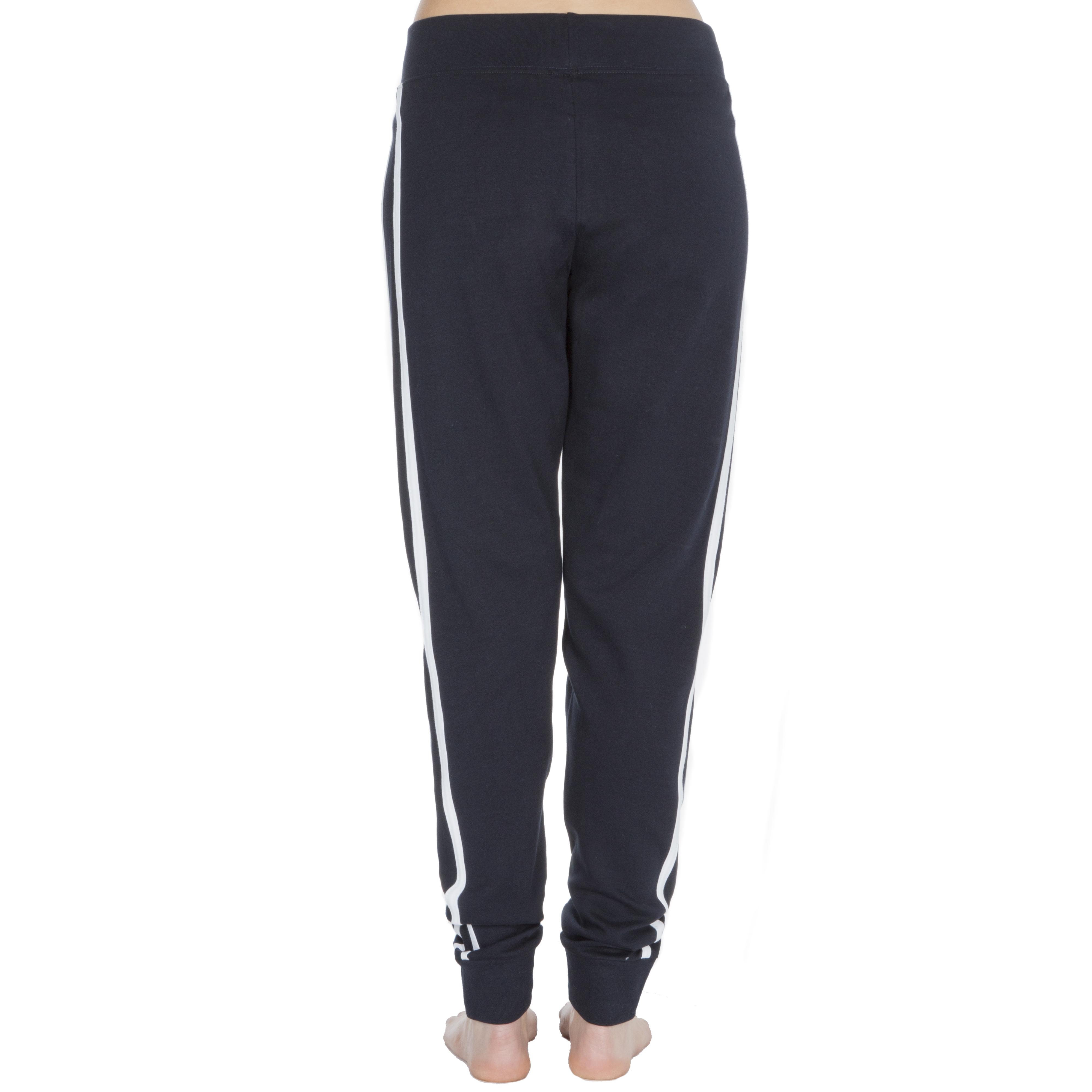 100/% Cotton Ladies Jogpants Sweatpants Tracksuit Bottoms Sports Gym Drawstring