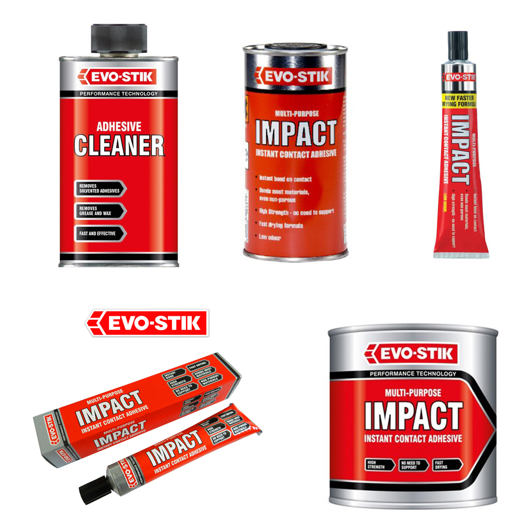 evo stik impact adhesives and adhesive cleaner multi purpose evo stik impact adhesives and adhesive cleaner multi purpose instant contact