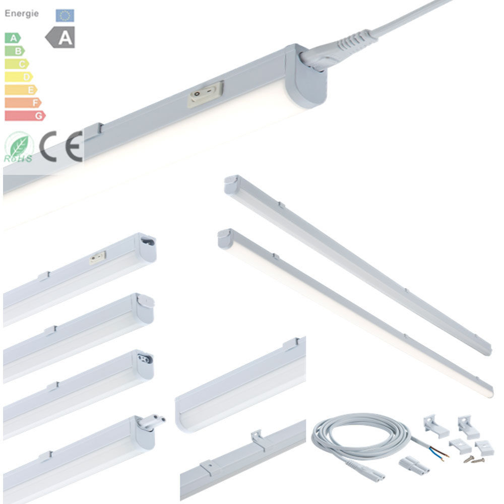 Shop Shelf Tool Lighting Kit Led Bar Fixture Cool White: Cool & Warm White LED Linkable Under Cabinet Shelf