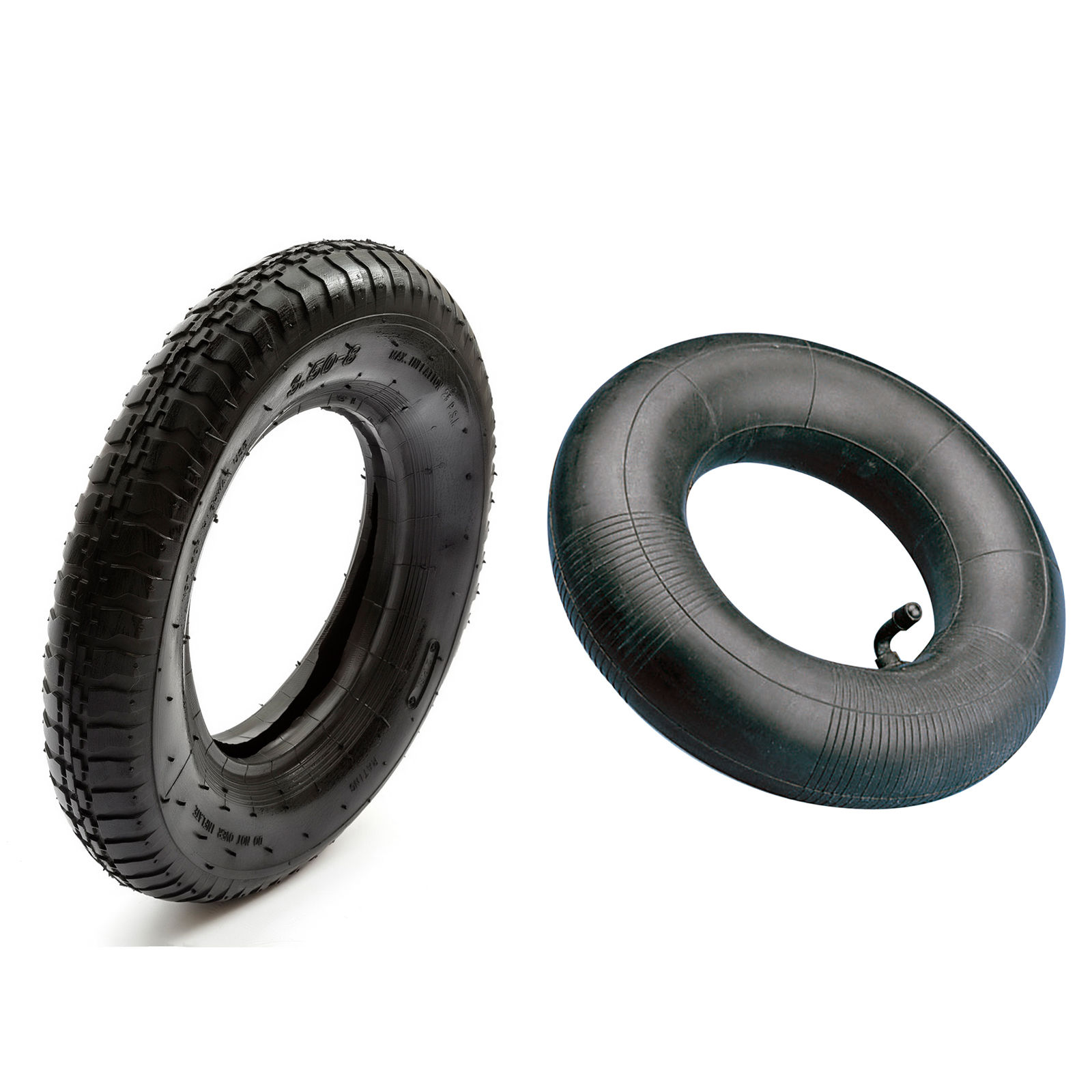 tyre inner tube 8 wheelbarrow ebay. Black Bedroom Furniture Sets. Home Design Ideas