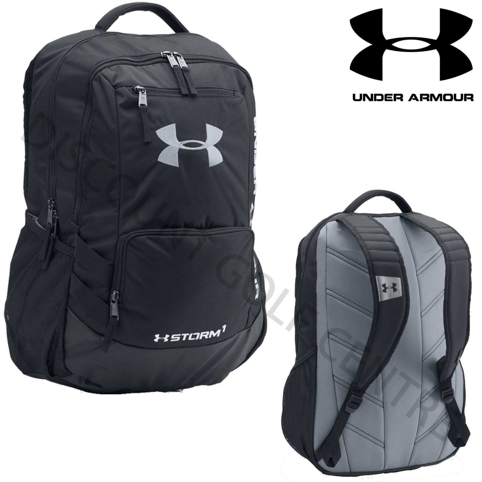 Under armour 2017 ua hustle ii backpack rucksack gym for Gimnasio ua